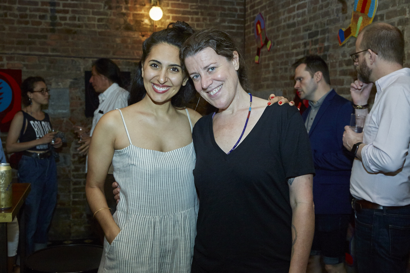 Caroline Wells Chandler Opening Reception for Queer|Art|Pride at Wythe Hotel, June 2017. (Photo by Eric McMatt)