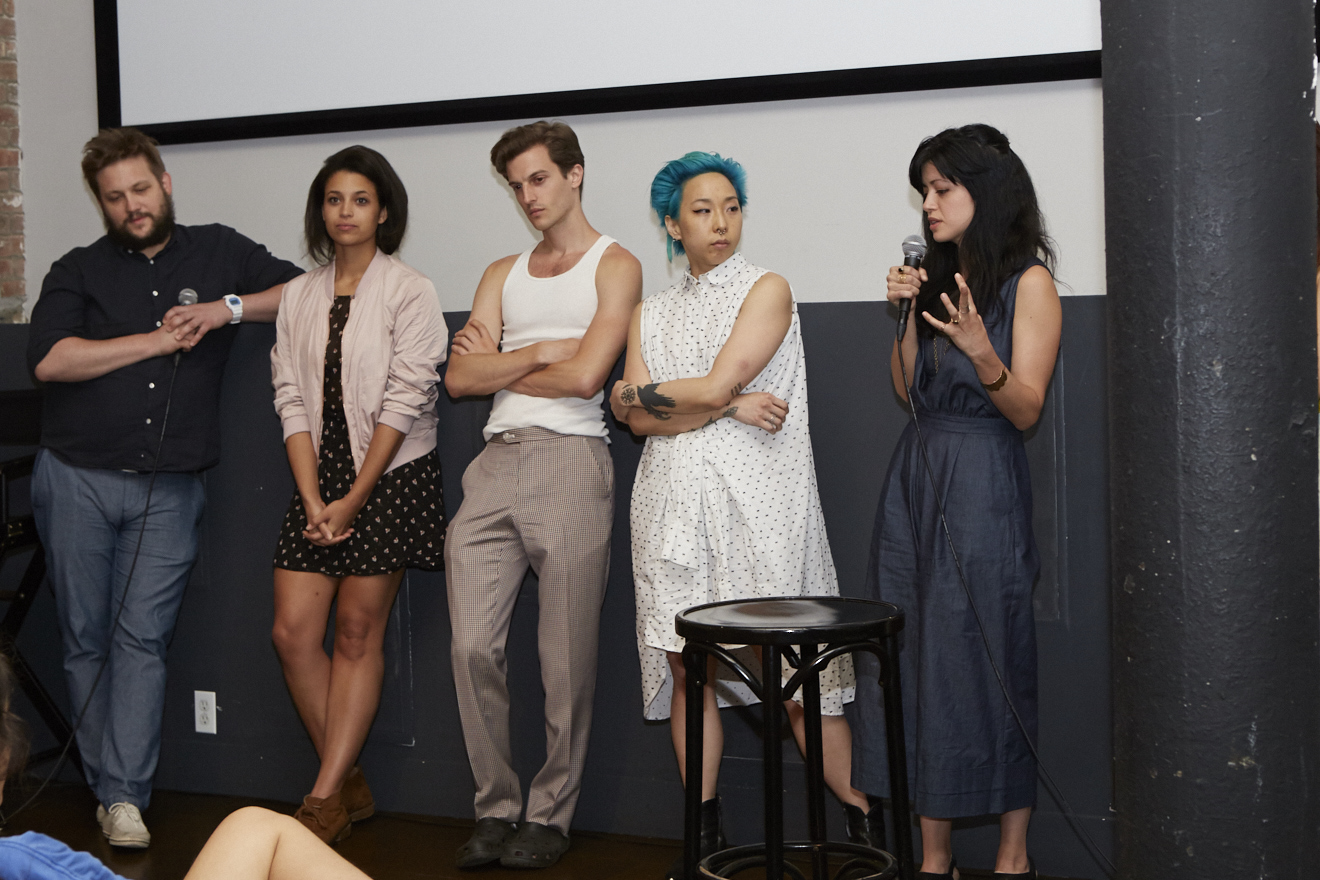 M.F.A. (dir. Natalia Leite) Q&A w/ cast & crew for Queer|Art|Pride at Wythe Hotel, June 2017. (Photo by Eric McNatt)