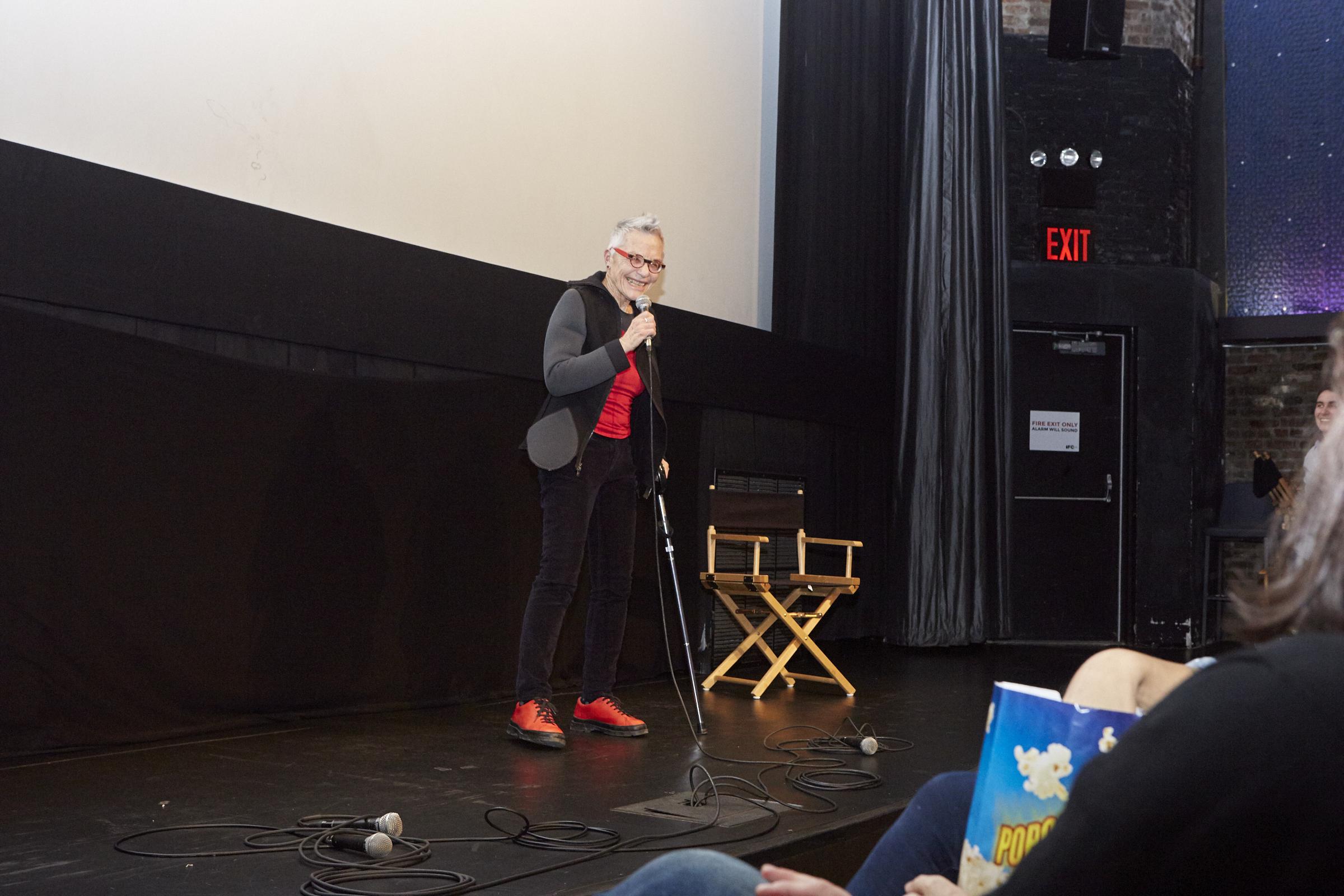 Barbara Hammer (Photo by Eric McNatt)
