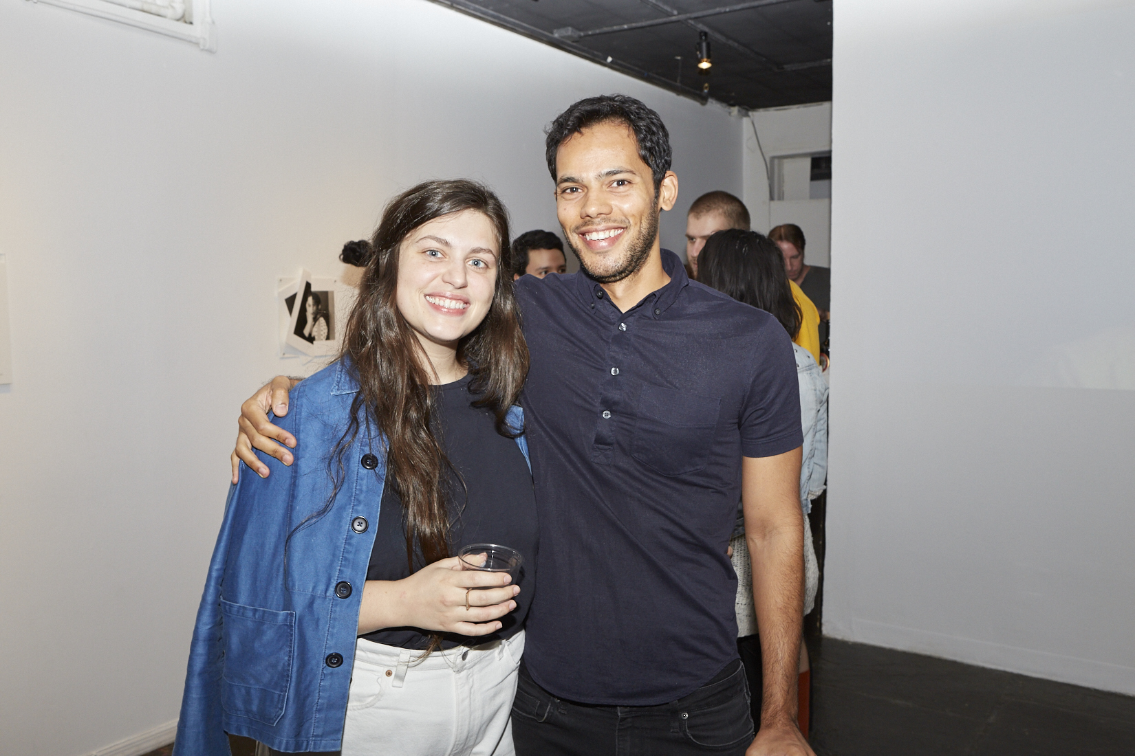 Ashton Cooper and Rodrigo Moreira at Opening Reception of QAM 2016-2017 Annual Exhibition 01  (Photo by Eric McNatt)