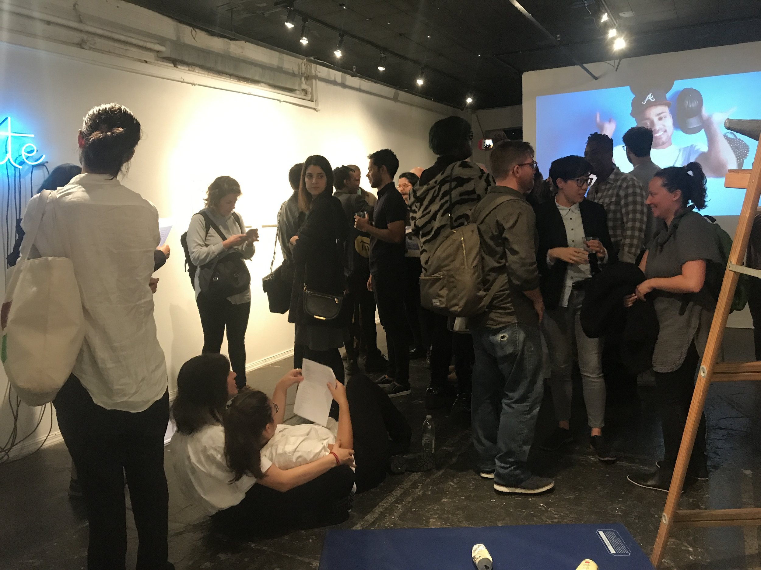 QAM 2016-2017 Annual Exhibition Opening Reception 02 (Photo by Vanessa Haroutunian)