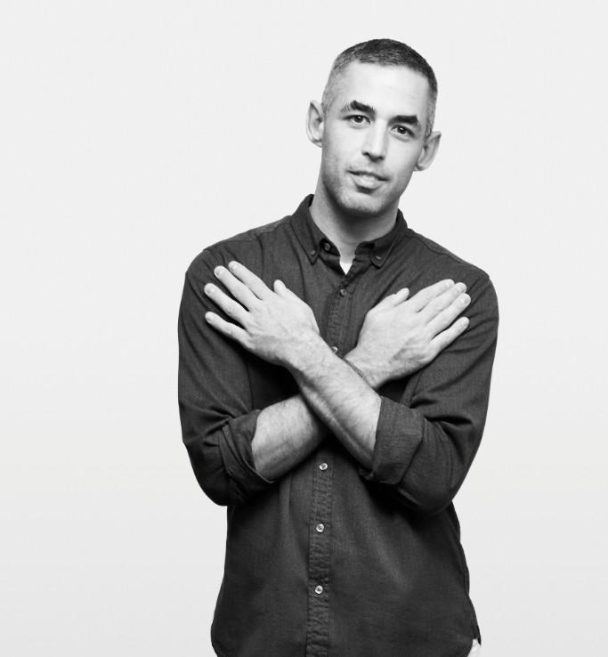 Adam Baran, image by Eric McNatt for the 2017 Queer|Art Community Portrait Project