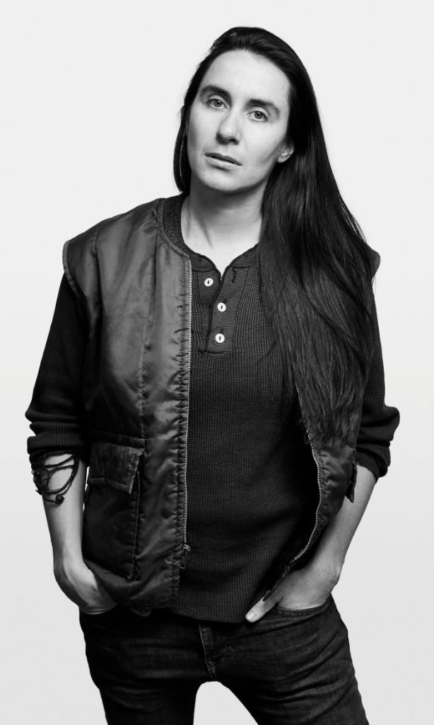 Vanessa Haroutunian, image by Eric McNatt for the 2017 Queer|Art Community Portrait Project