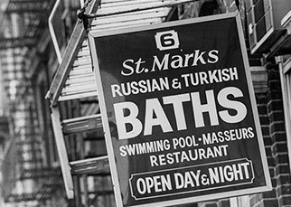 St. Marks Baths, image courtesy of Mikkel Aaland