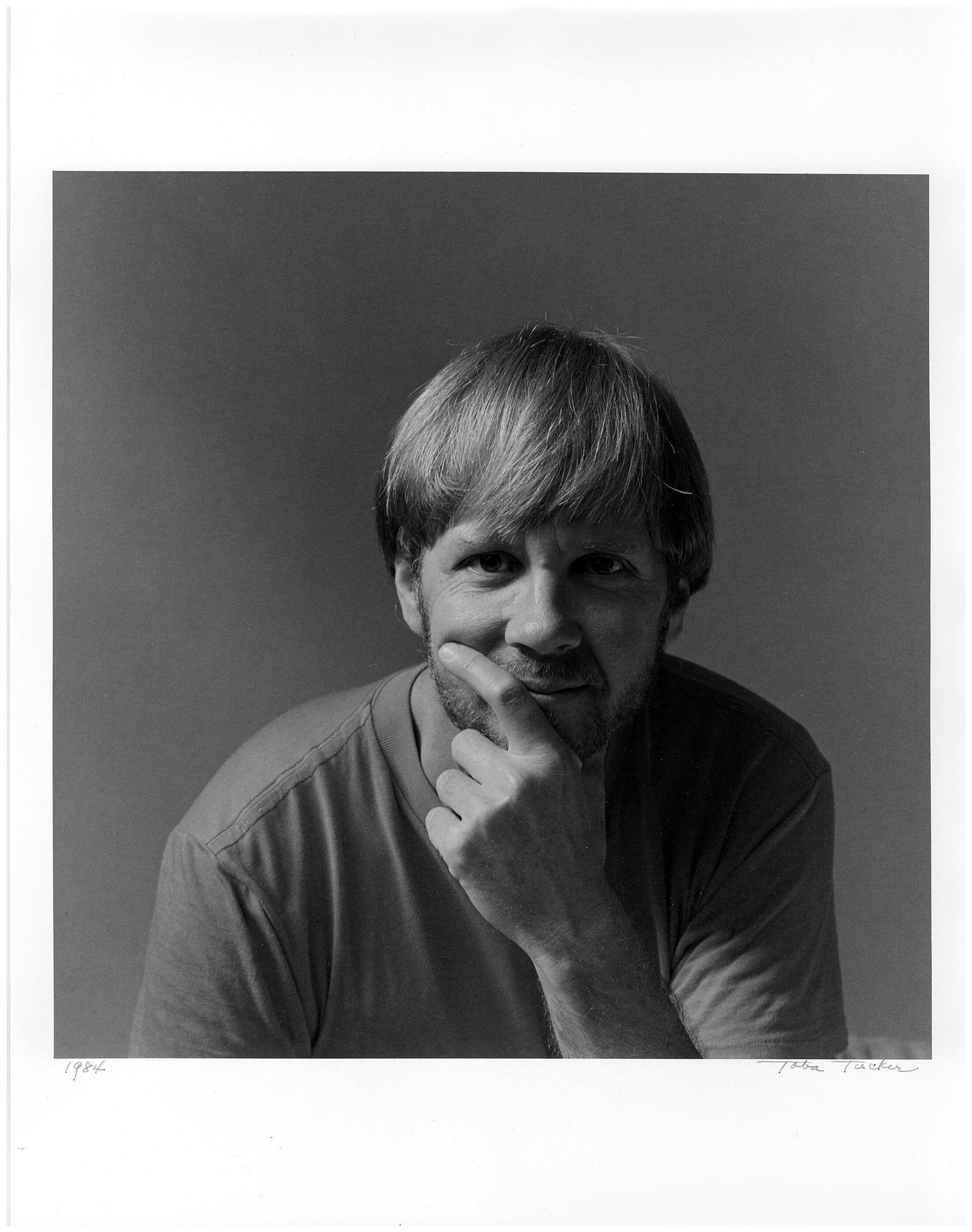 Robert Giard, 1985. Photo by Toba Tucker, Courtesy The Estate of Robert Giard