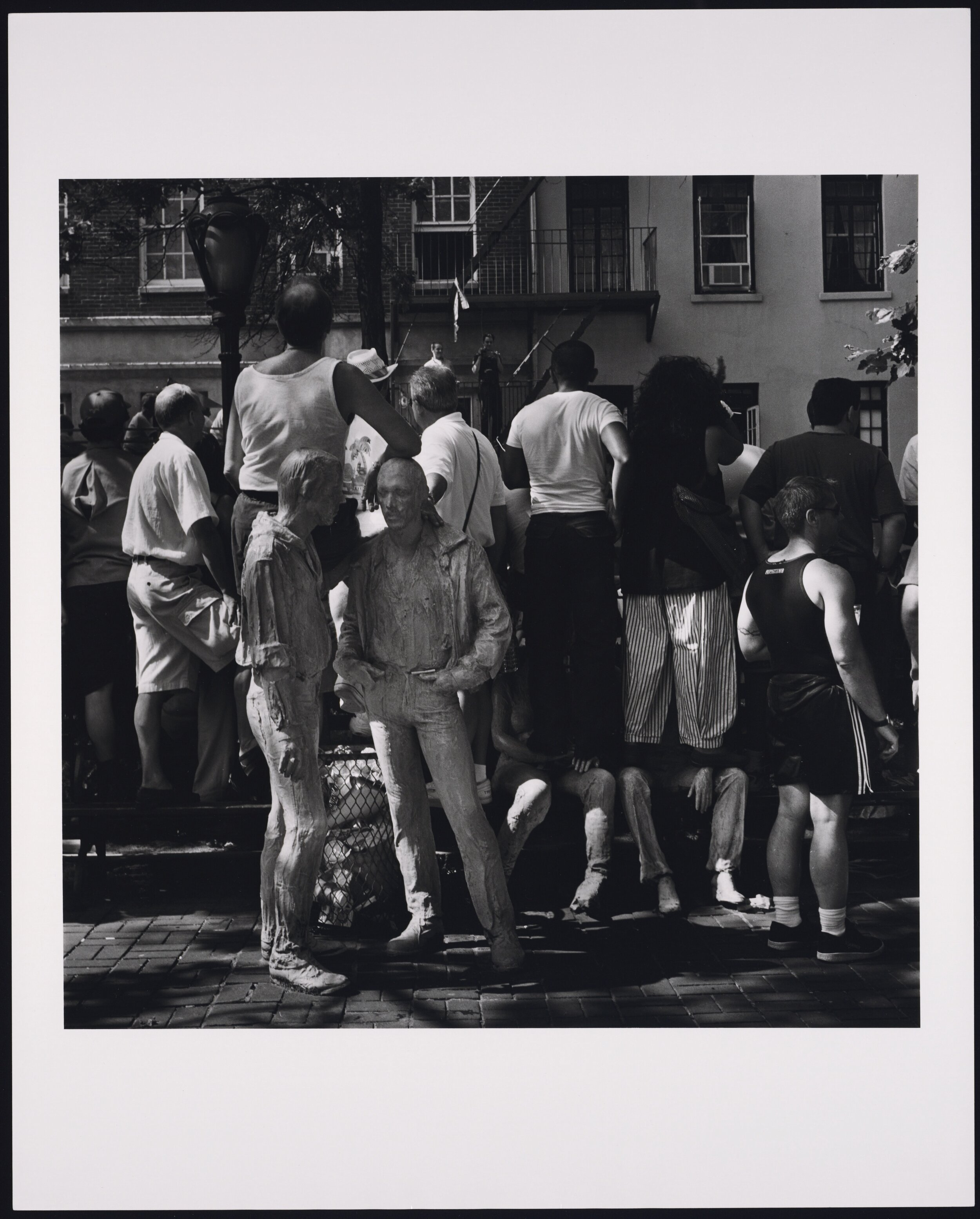 Parade viewers with two George Segal Sculptors.jpg