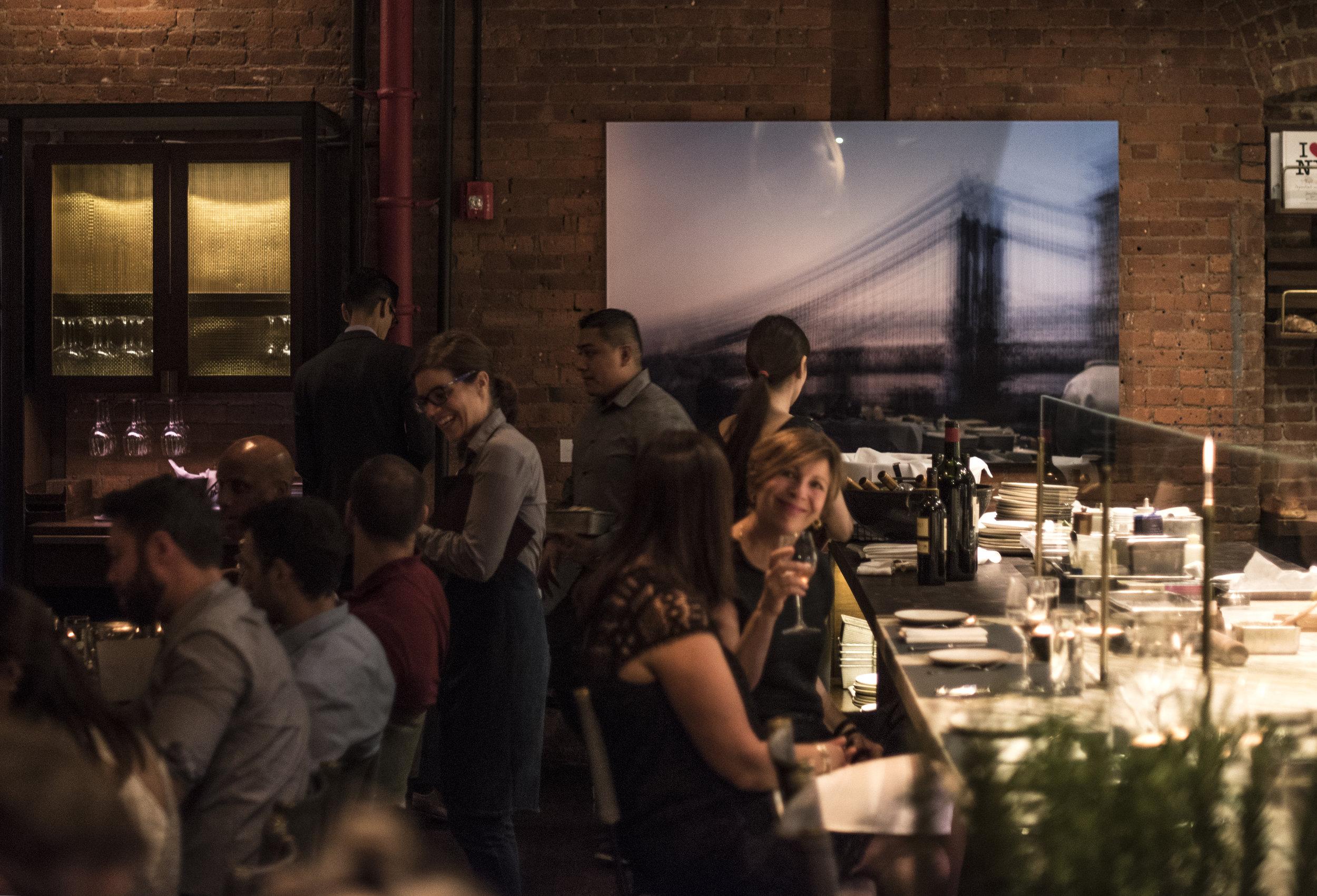 Manhattan Bridge   multiple exposure on 4x5 reversal film 48x72