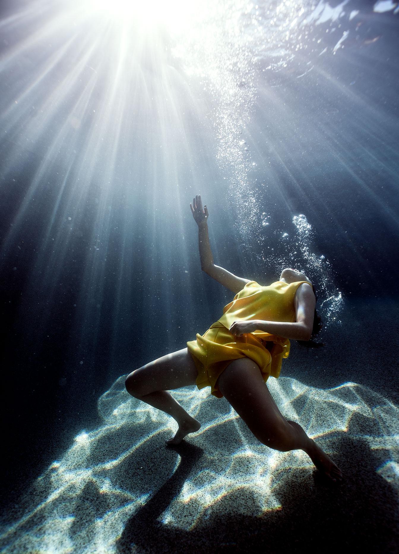 free under water