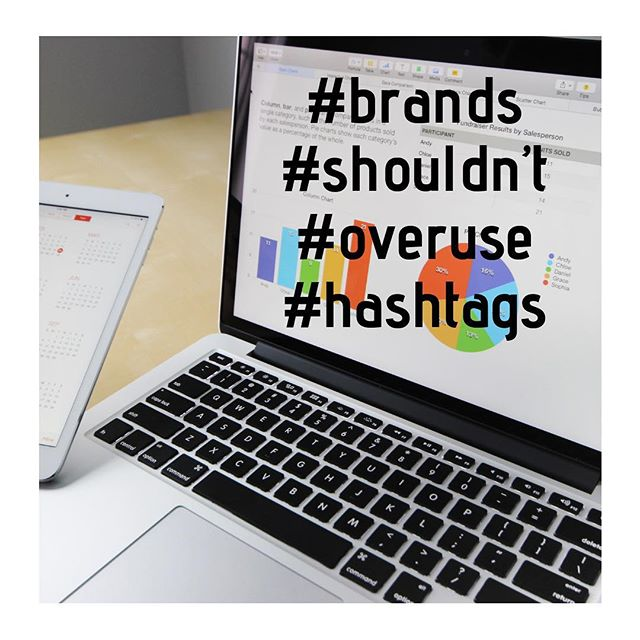 Each social media platform should be using a certain number of hashtags.  Is your brand overusing hashtags? - - - - -  #hashtag #digitalmarketing #socialmediamarketing #ppc #smm #seo #sem #modernmarketing #digitalmarketingexperts - - Posted by Courtney Leonard