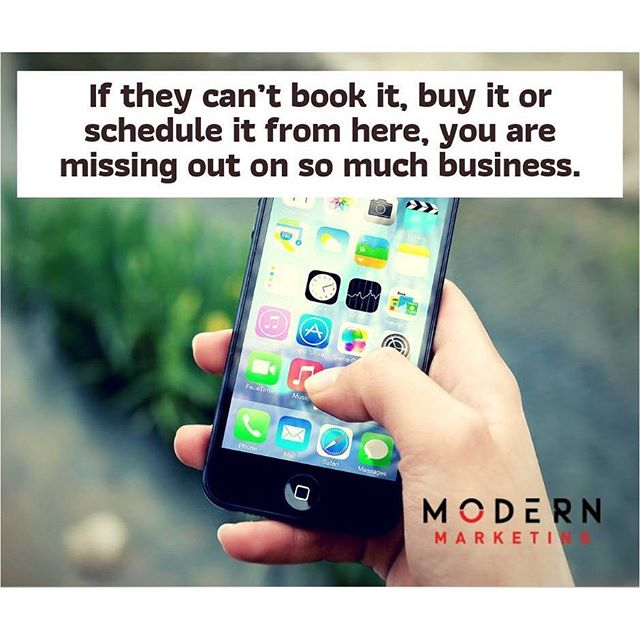 Your clients are more likely to book your service or buy your products if your website makes it easy for them. - - - - - #booknow #buynow #scheduleonline #seo #smm #digitalmarketing #cta #mobilefriendly #modernmarketing