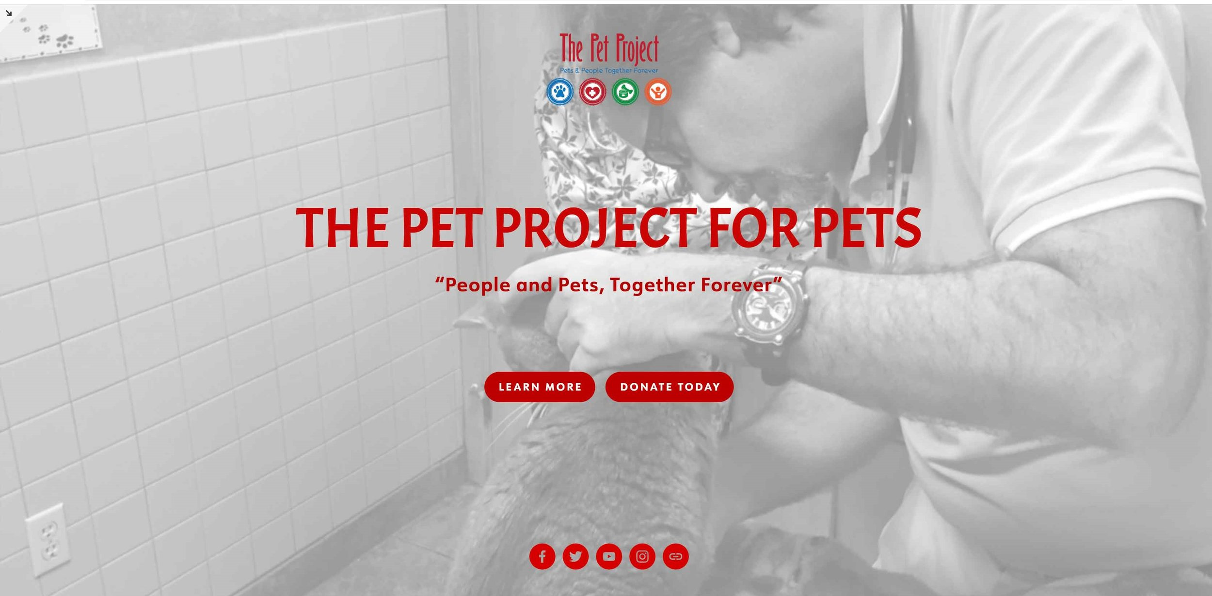 Non Profit: Animal Rescue & Retention E-Commerce & Fundraising Site