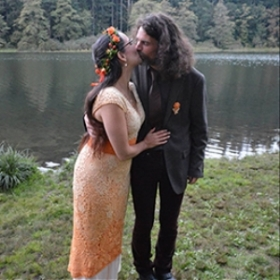 Why I Wore Orange to my Weddiing