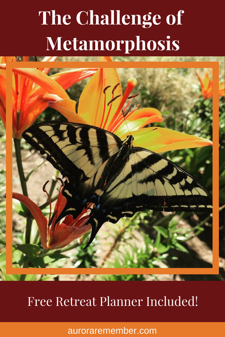The Challenge of Metamorphosis - Free Retreat Planner inside