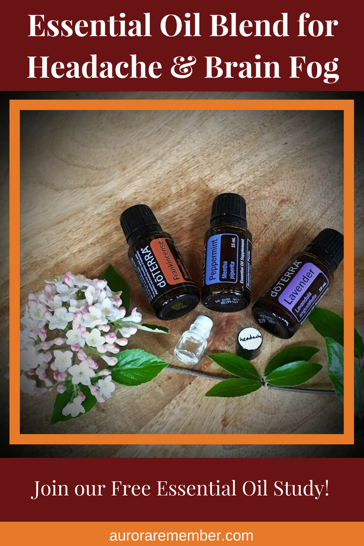 Essential Oil Blend for Headache & Brain Fog