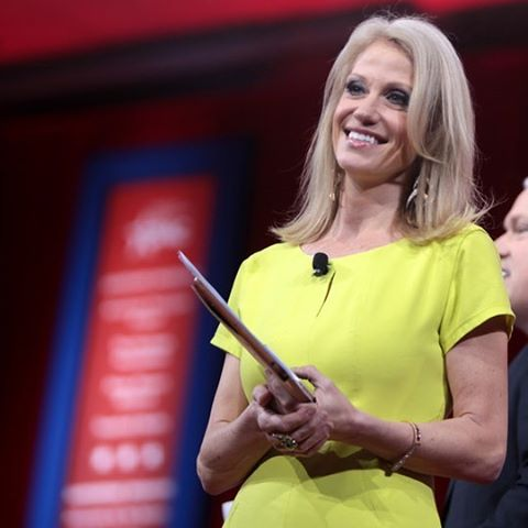 Kellyanne Conway, the first woman to run a #winning presidential campaign. Spent less then half of the competition and pulled out a strong strategic win.