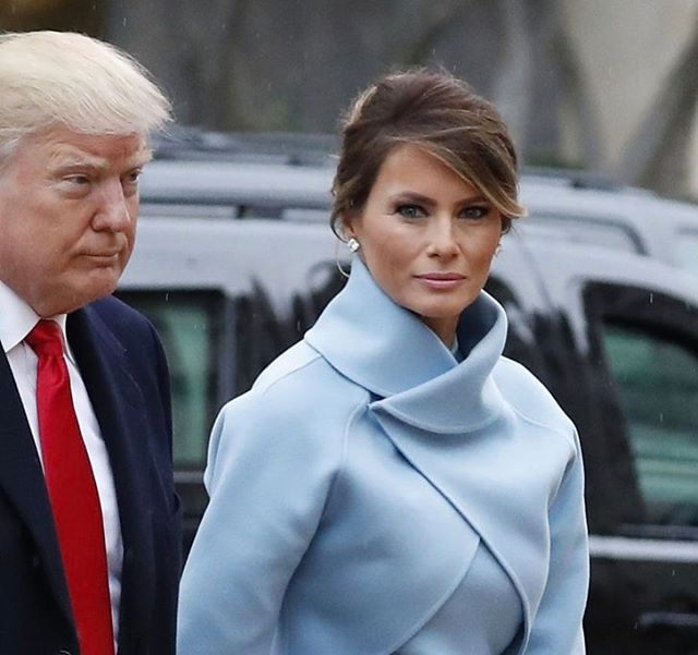Our new First Lady, Mrs. Melania Trump