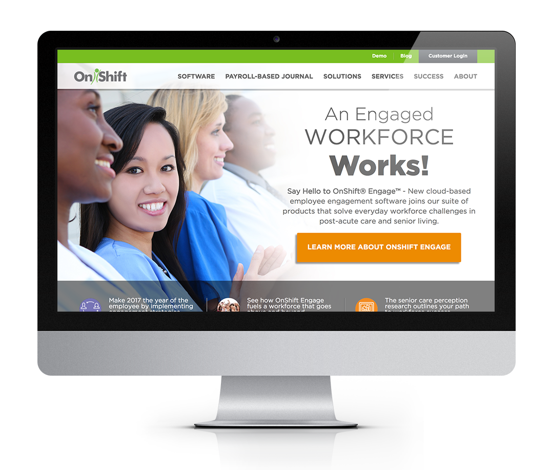 Website art direction and design