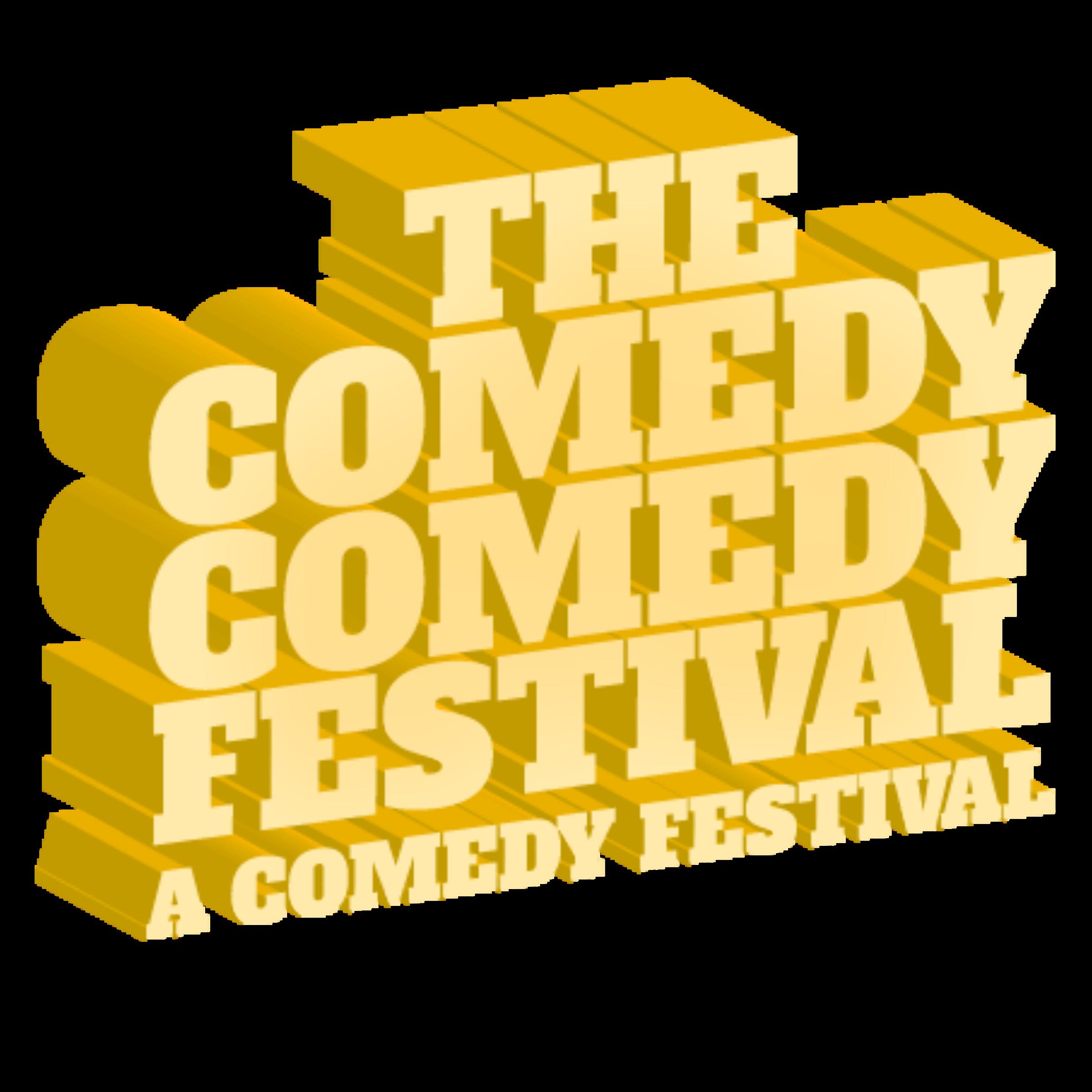 The Comedy Comedy Festival: A Comedy Festival - LOGO. PNG. Transparent.