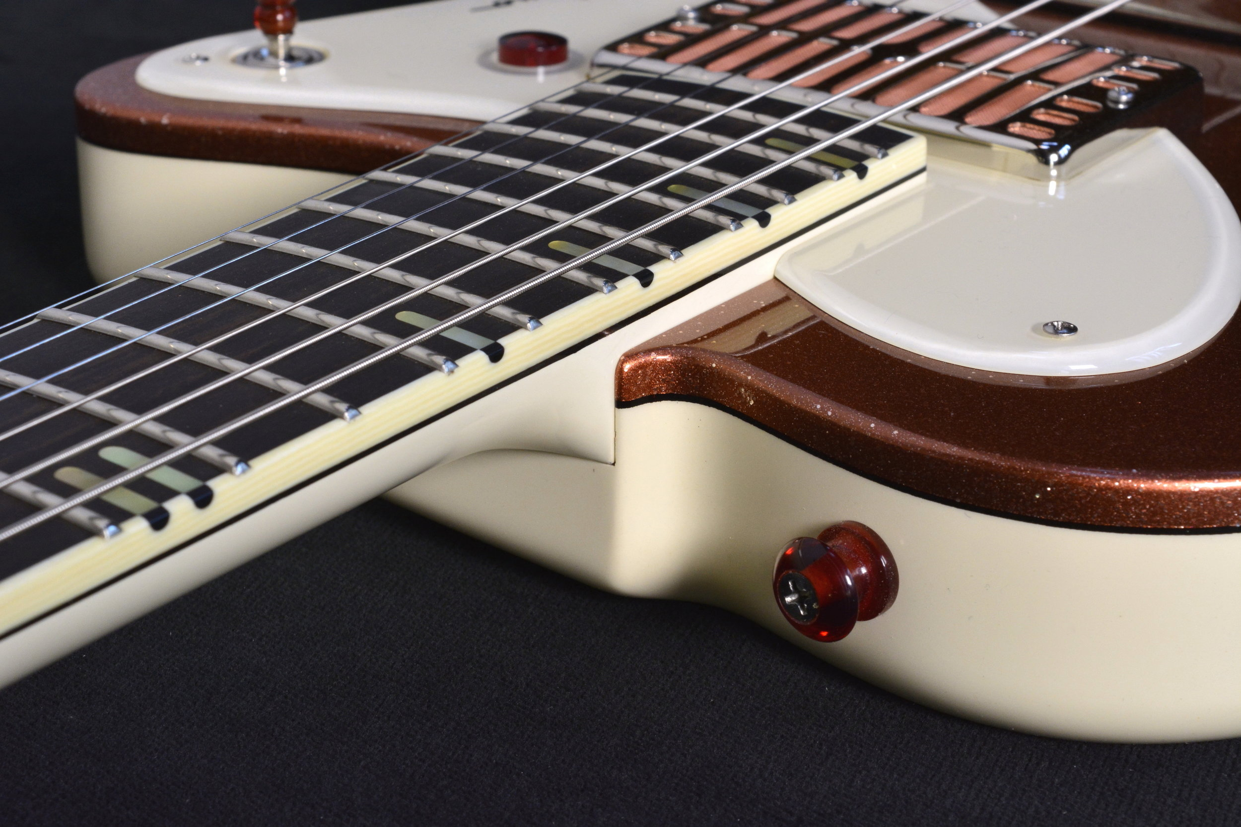 - The Milano is a limited edition of ten instruments. All ten will share the same specs, the difference between the instruments will be the lacquer finishes. Each in the series will have a different color sparkle top cap over either Jet Black back, sides and neck, or Mascarpone Cream as pictured on the copper top version.
