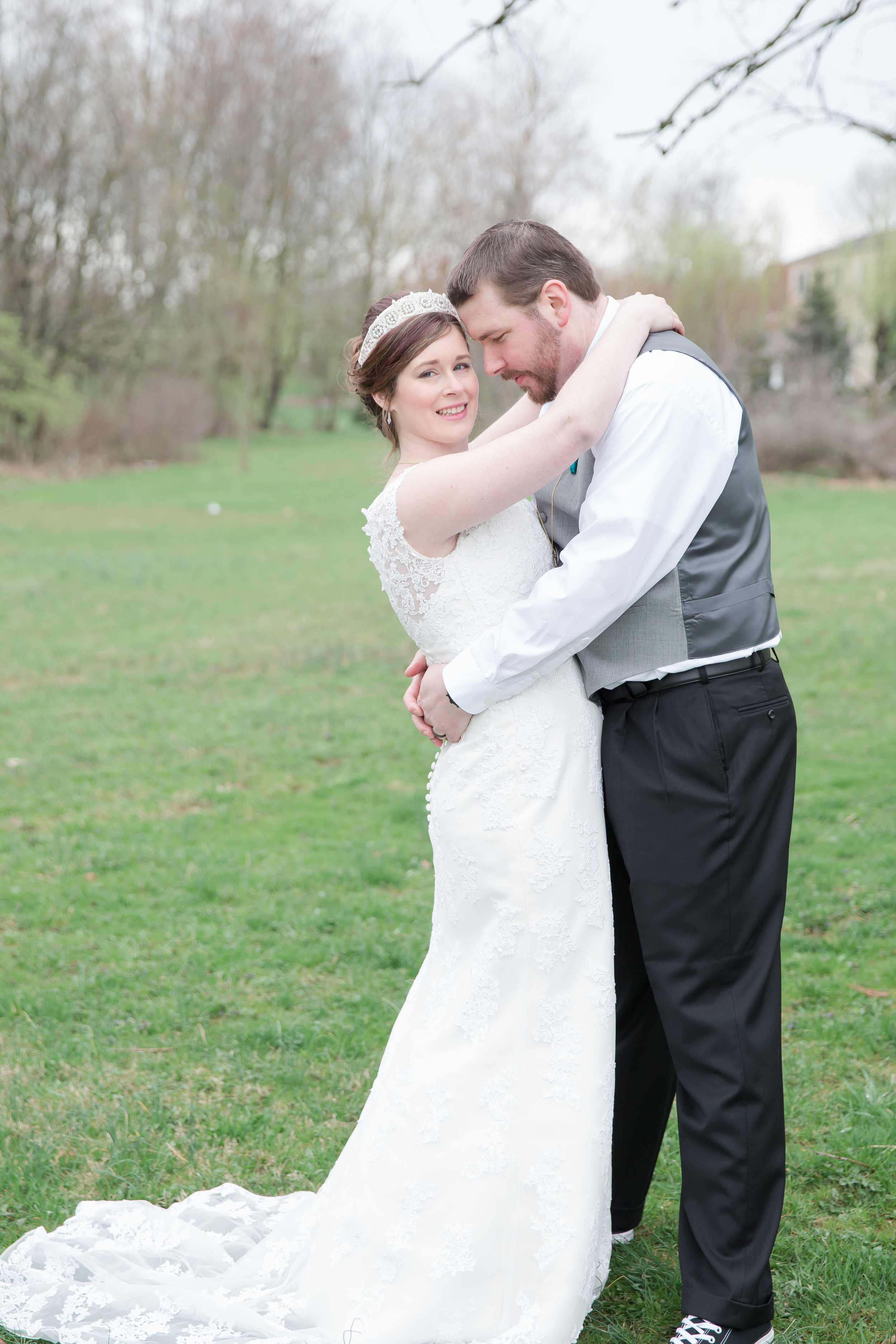 Kaitrin and Tim were such a sweet couple!