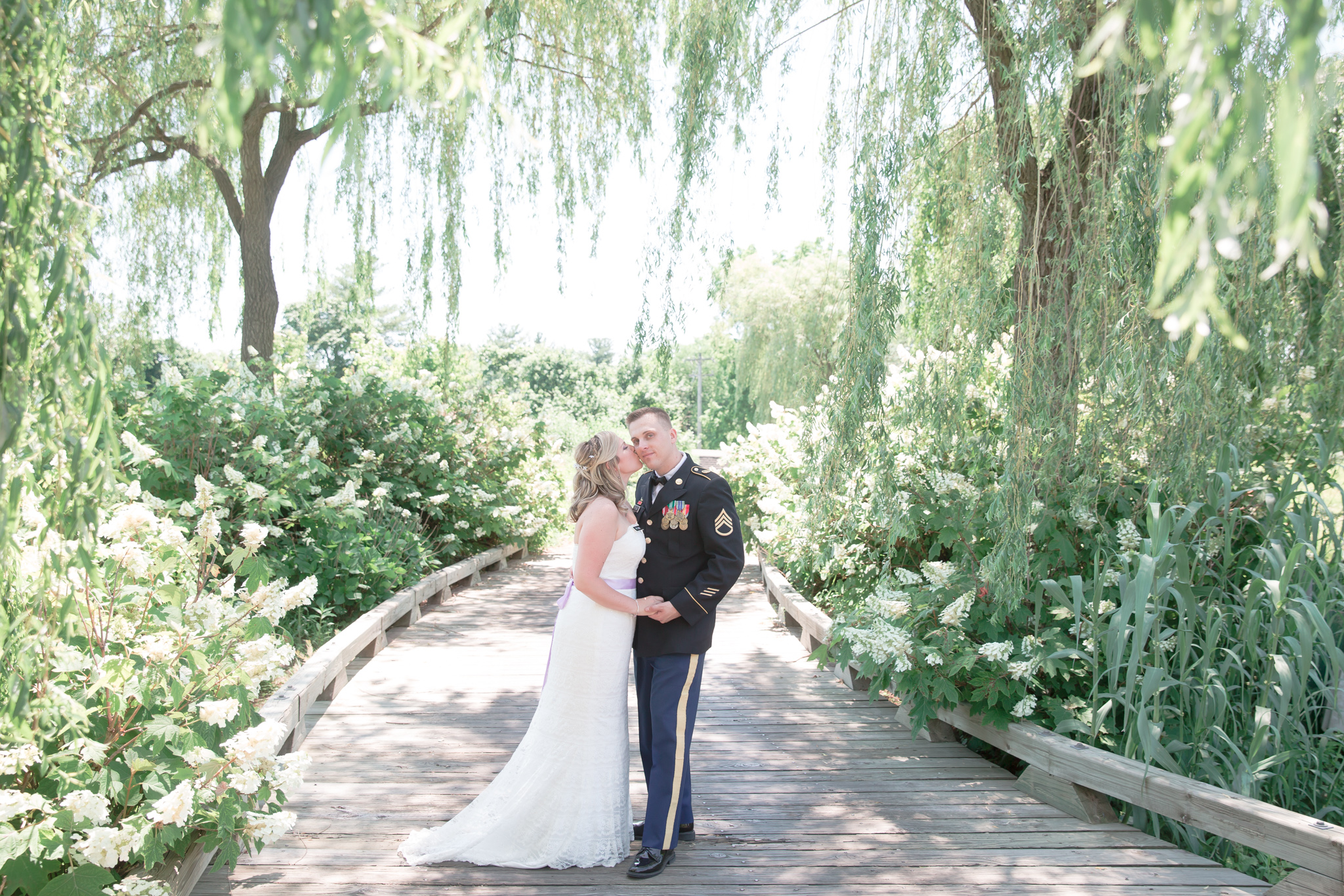 Probably one of my favorite locations this year. The trees framing this shot are truly amazing! Plus everyone loves a guy in uniform! ;)