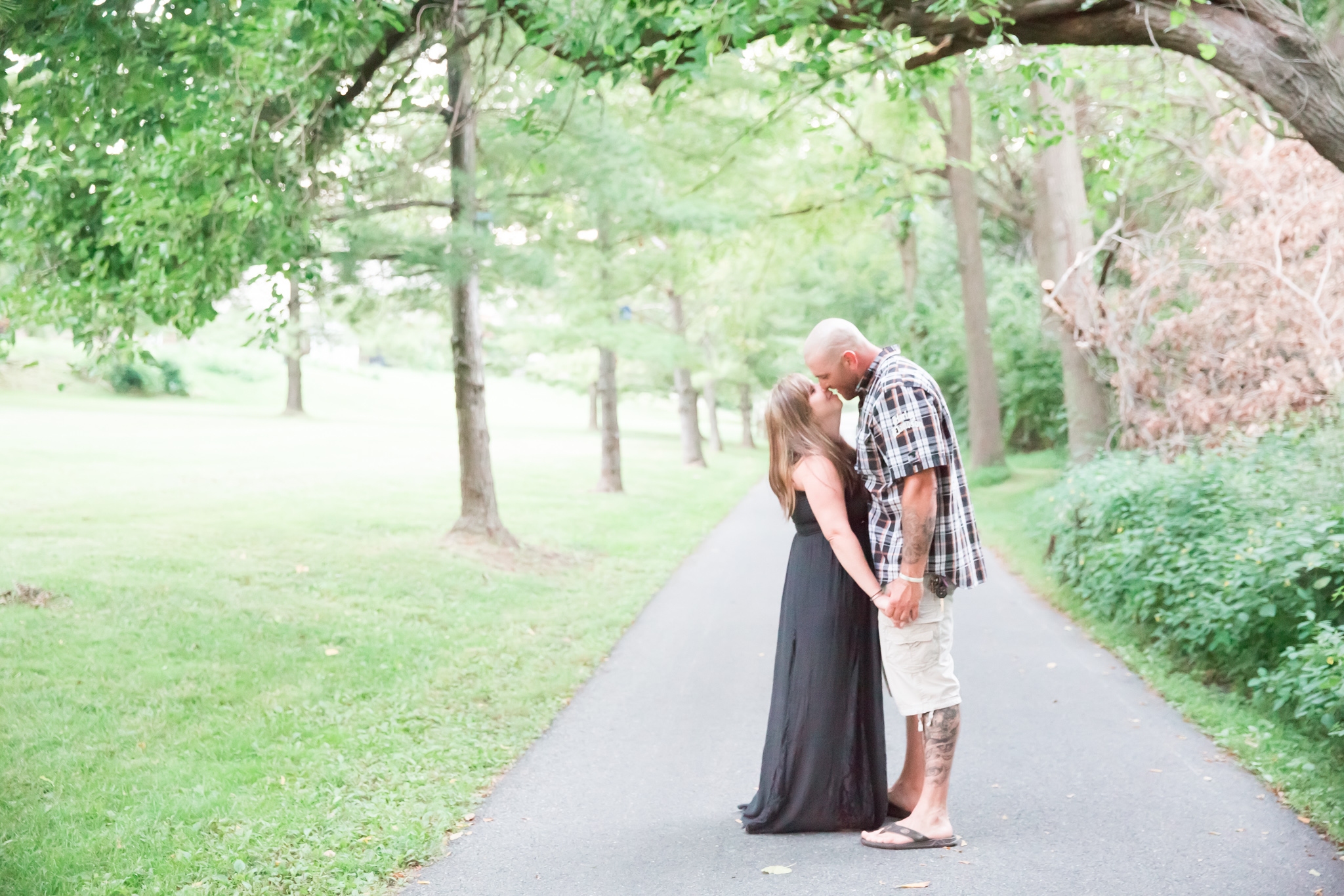 Why not go casual with your wedding and hang out with your closest friend and family! Love that I got to capture their I do's!