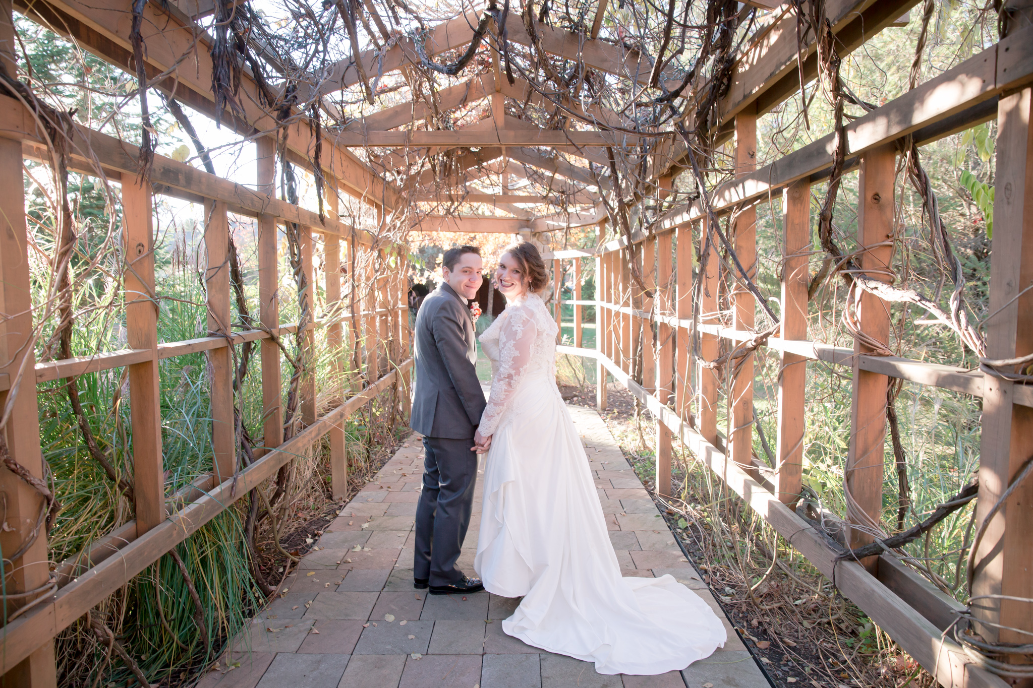 Um...One of my favorite photos! Love the wooden covered walkway!