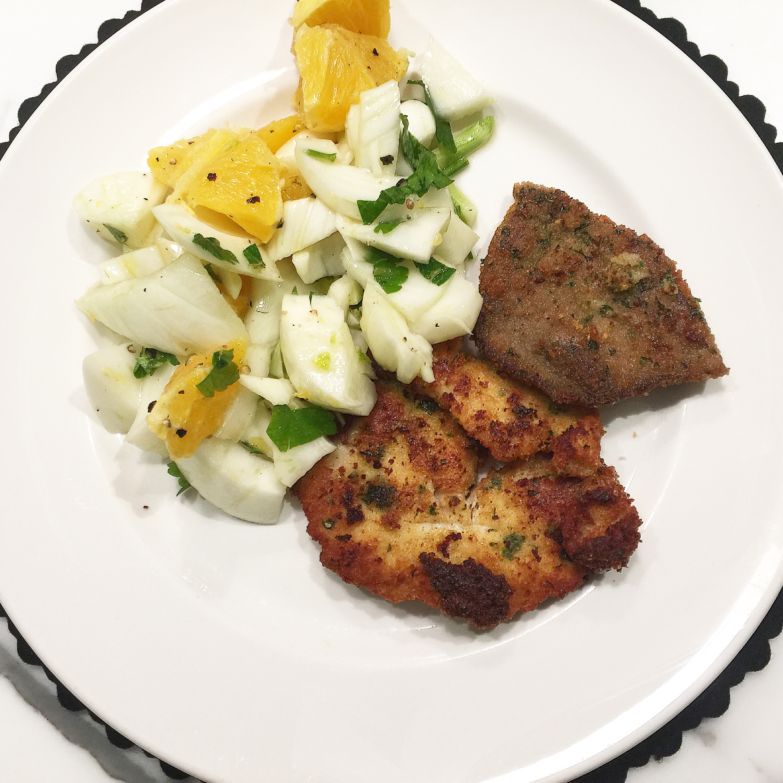 insalata di arance e finicchi orange and fennel salad