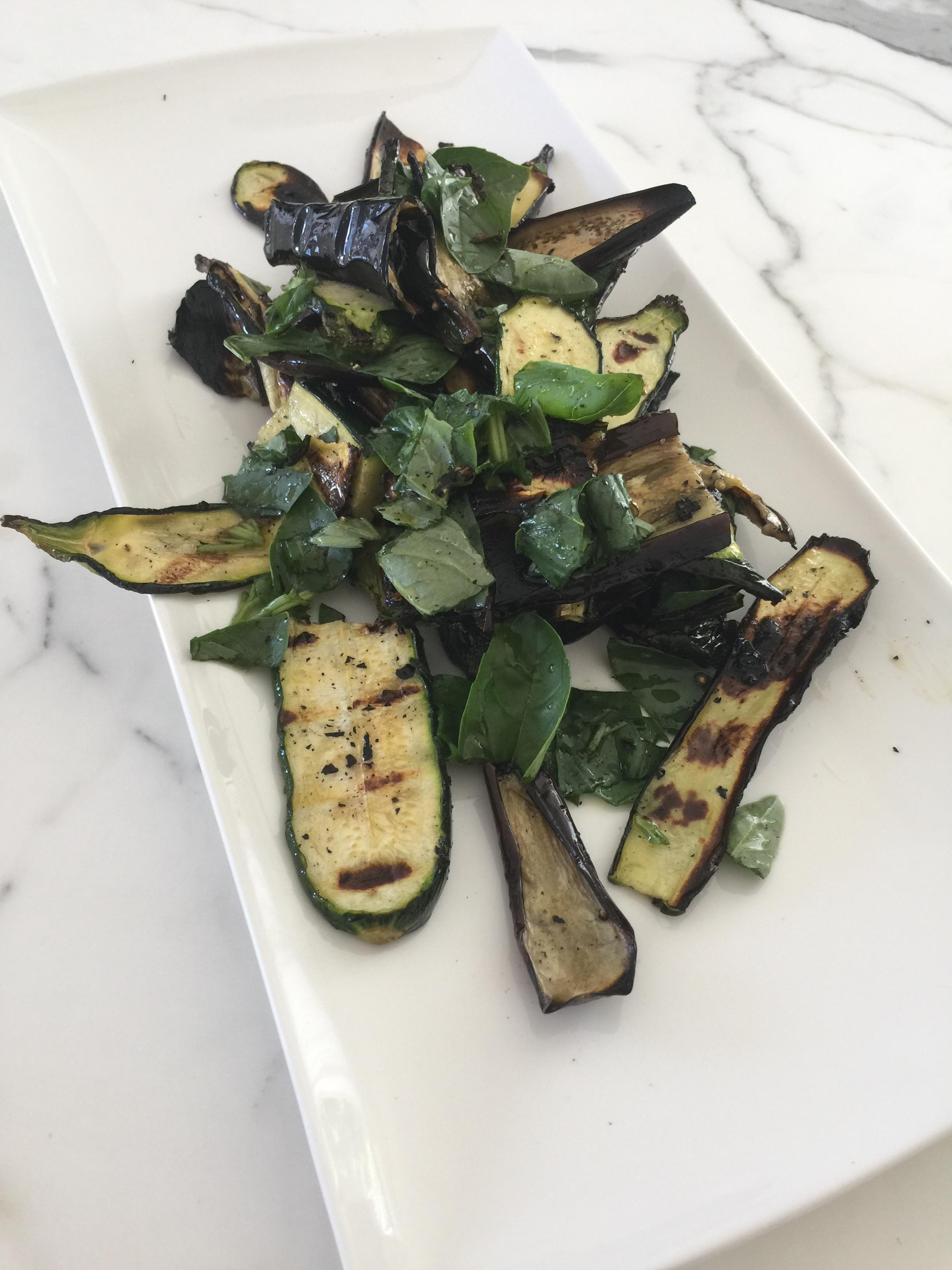 Zucchini and eggplant 🌿