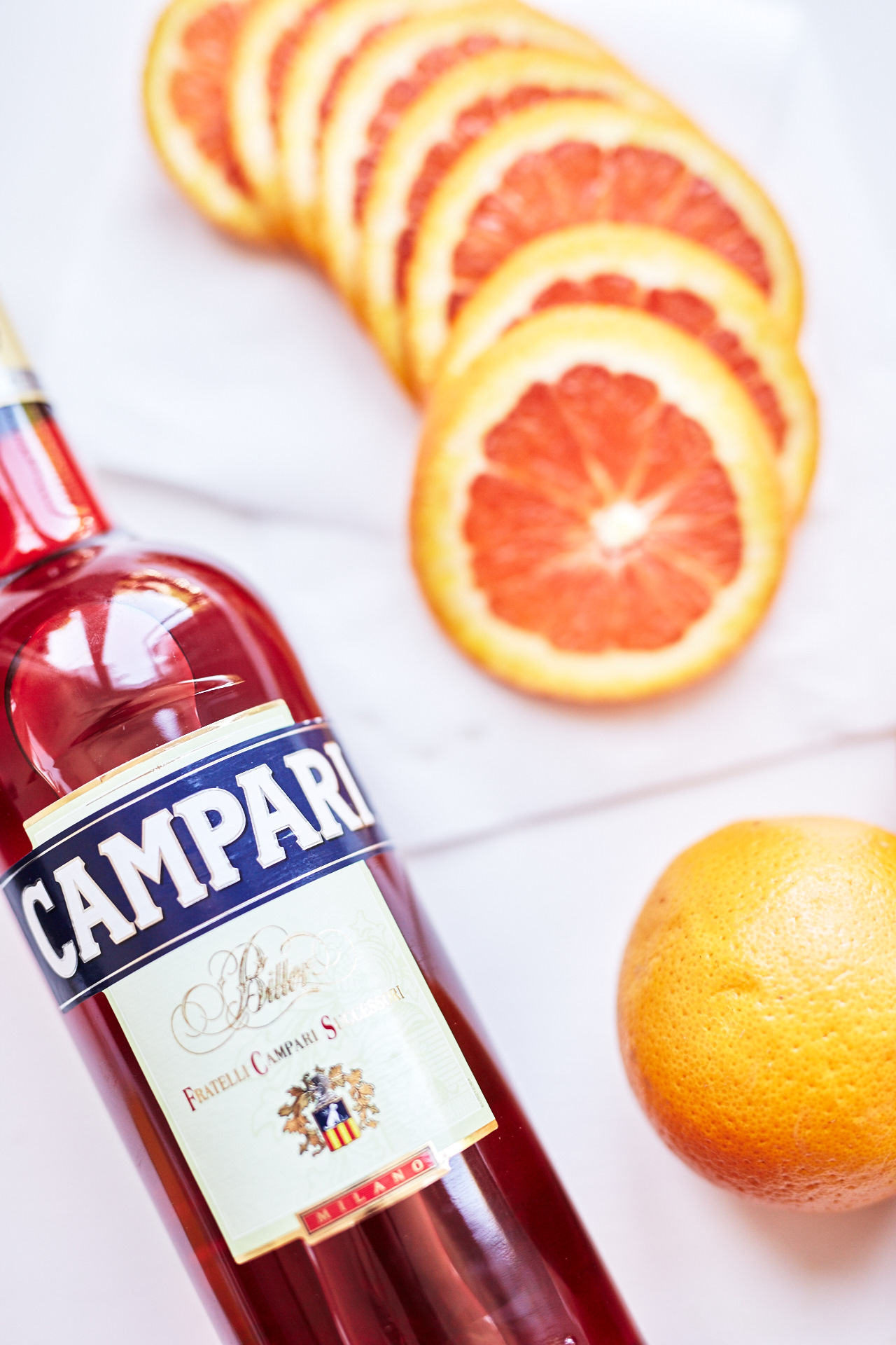 Campari and orange 🍊