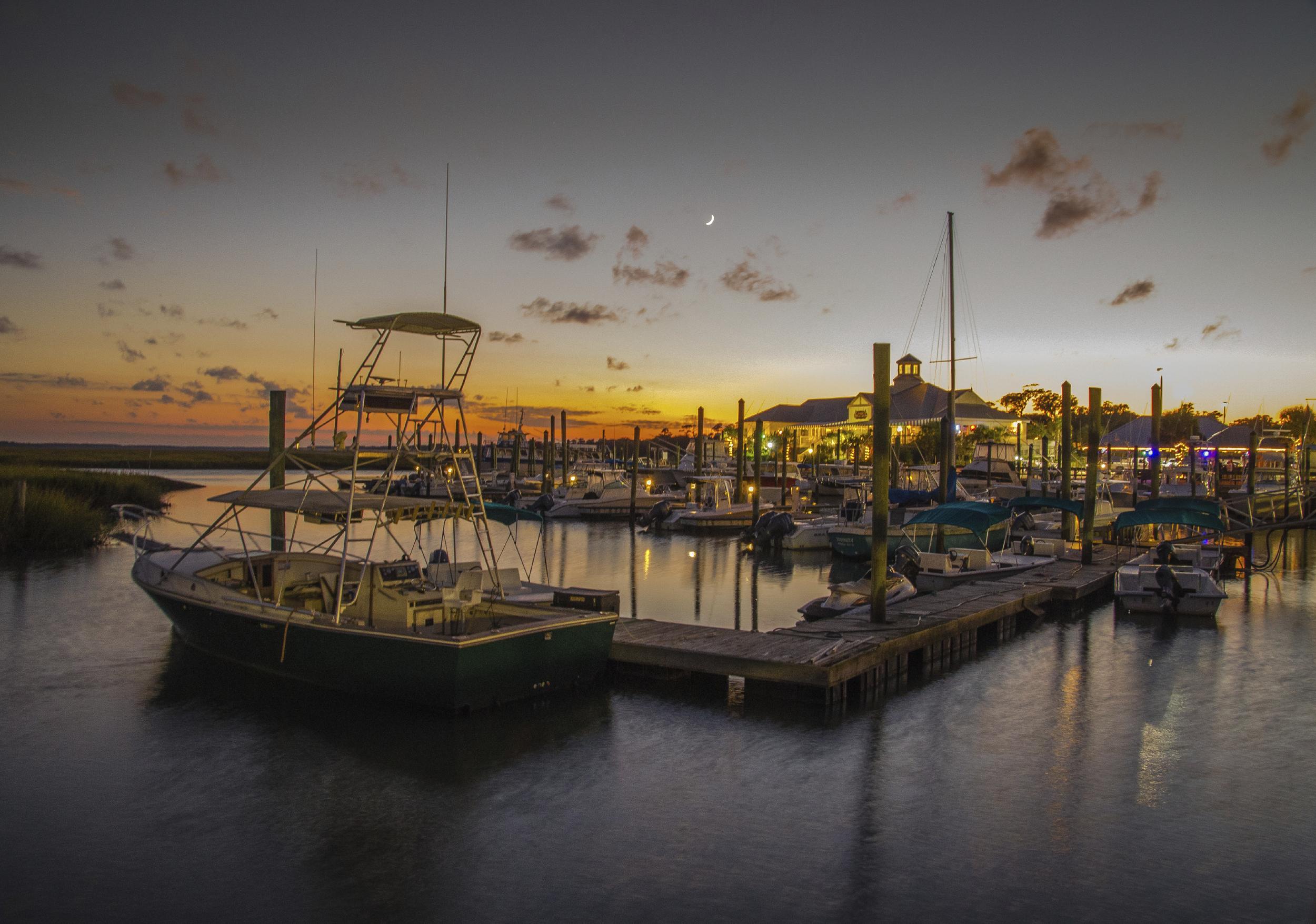 Several low cost marinas!