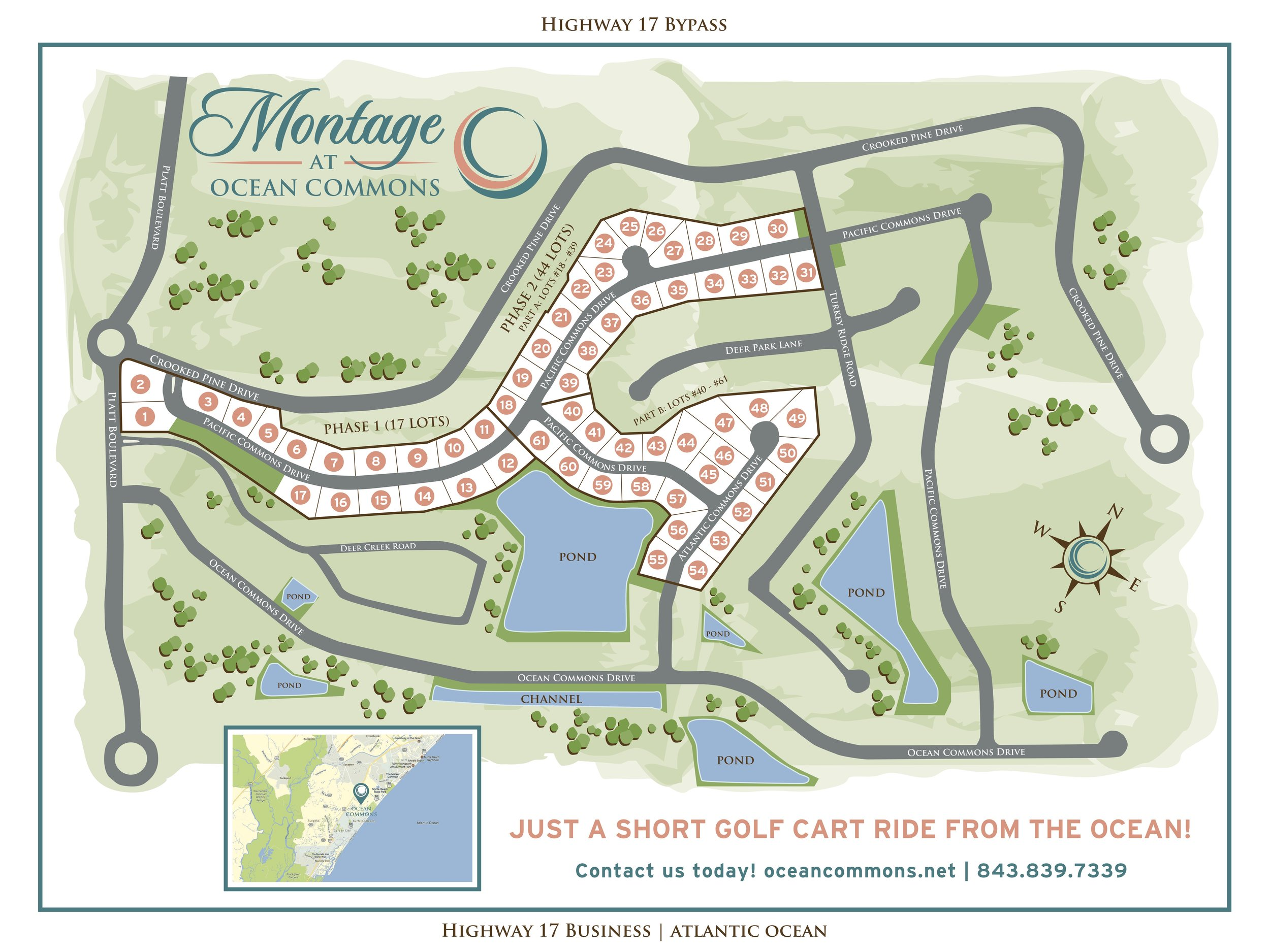 """We have hand selected the first region of lots for exclusive offer to our first home buyers dubbed """"The Montage"""". We would like you to be the first to experience the design, craftsmanship, and affordability of these premium home sites!"""