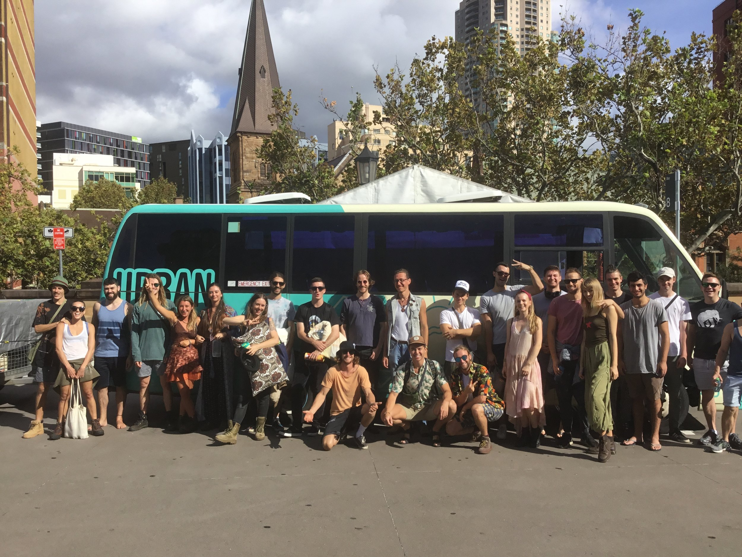 The best drivers, coaches and mini buses for music festivals in Sydney