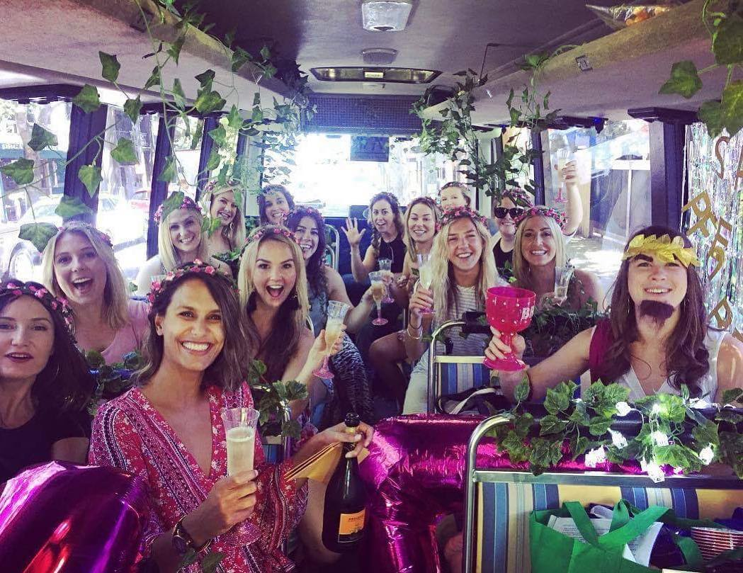 Hens party buses & Hens Winery Tours