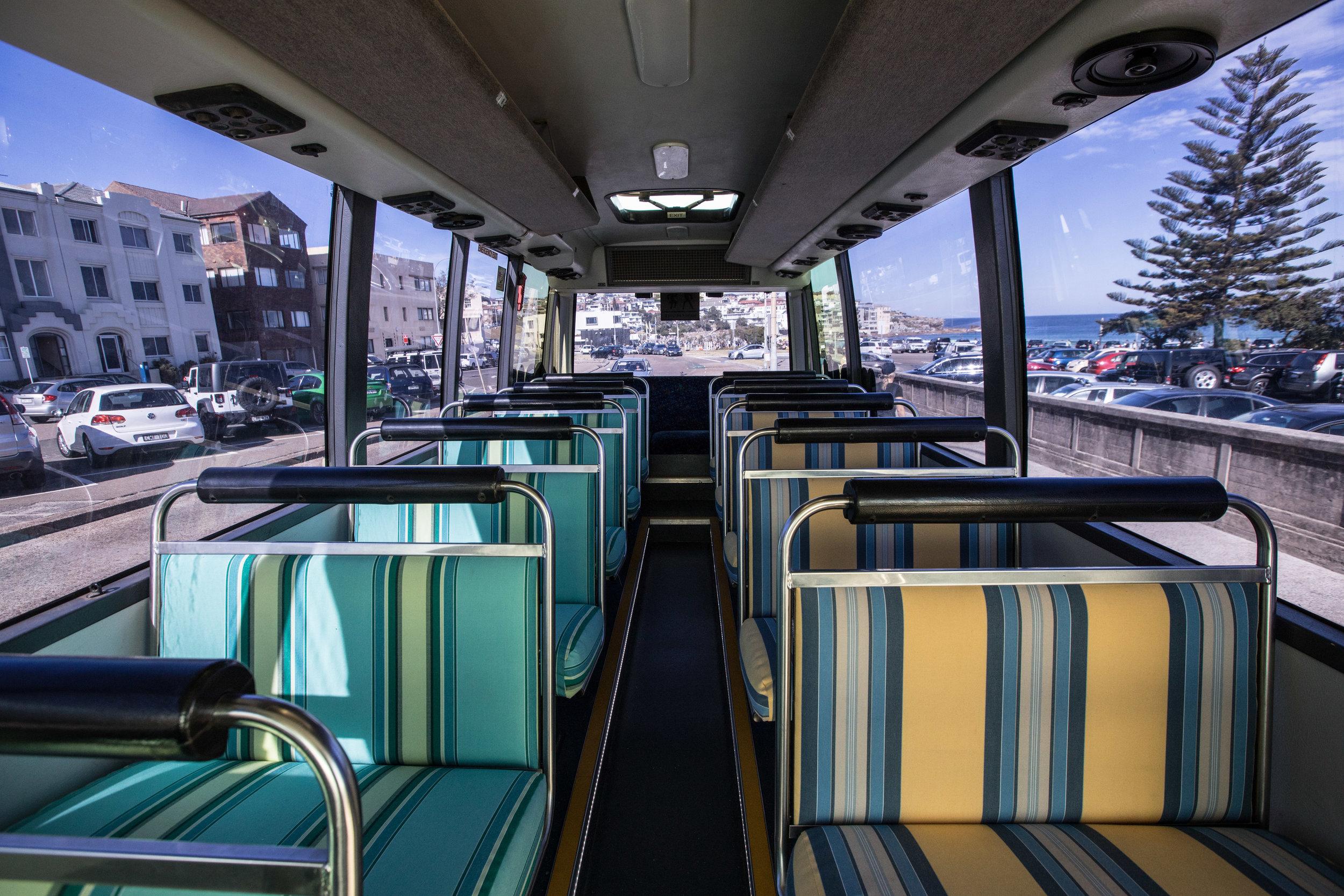 Bucks party bus