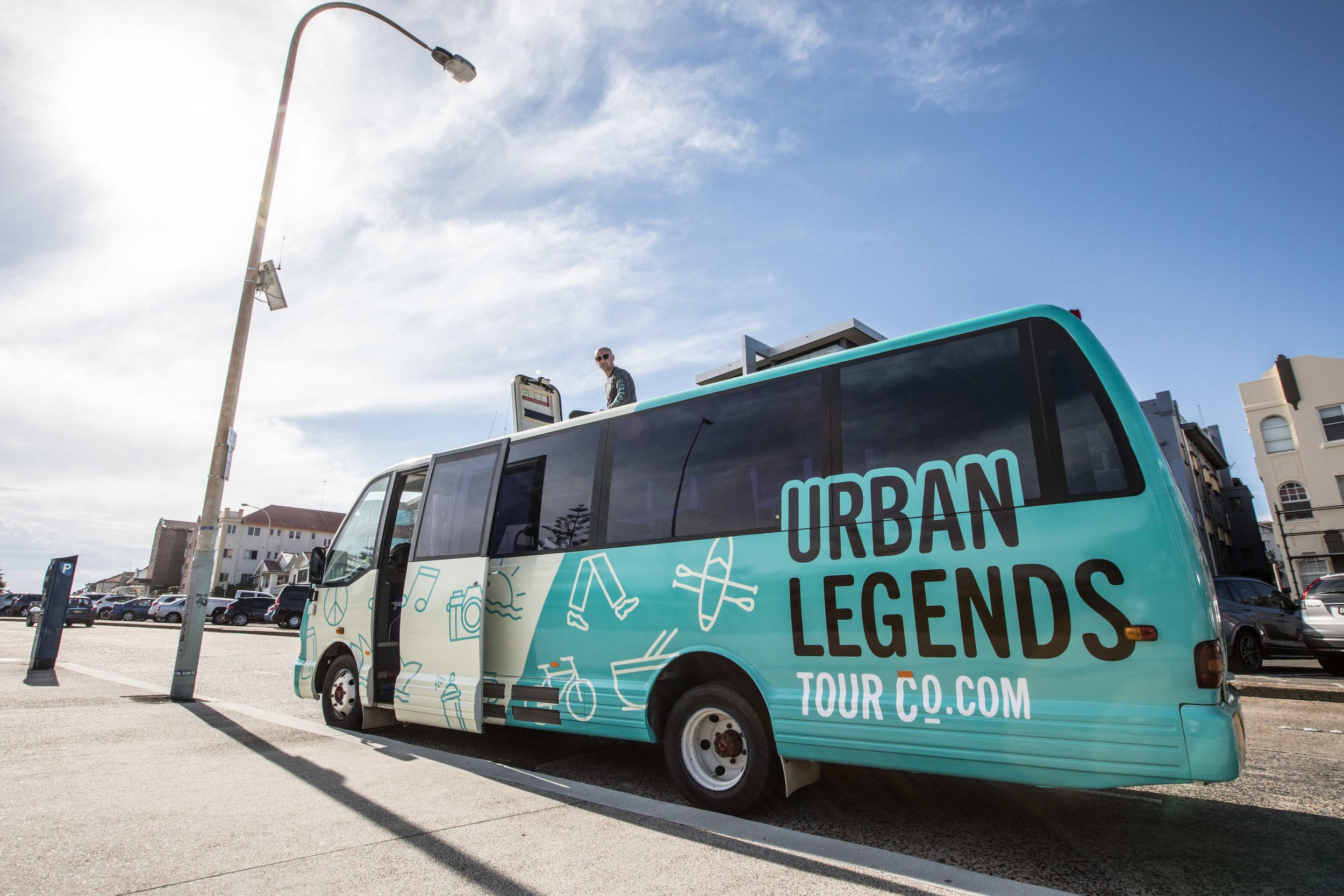 The Legends Bus