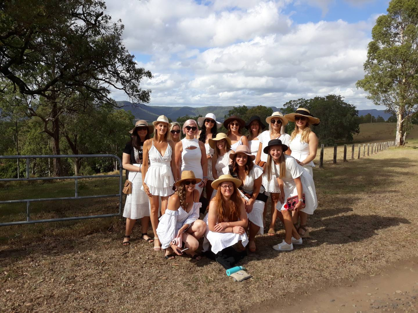 Hens Party in the Hunter Valley