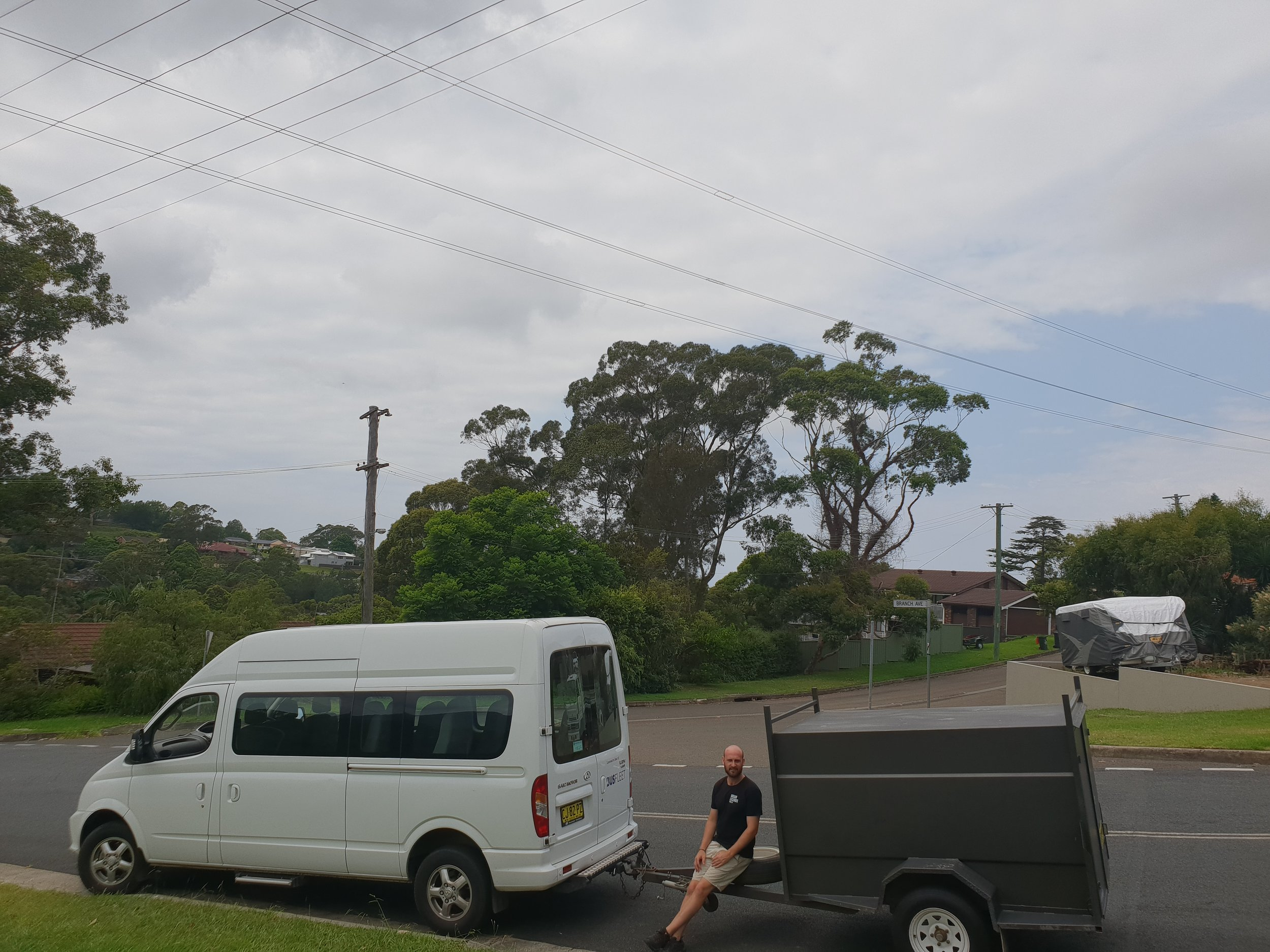 mini bus for cruise ship transfers in Sydney