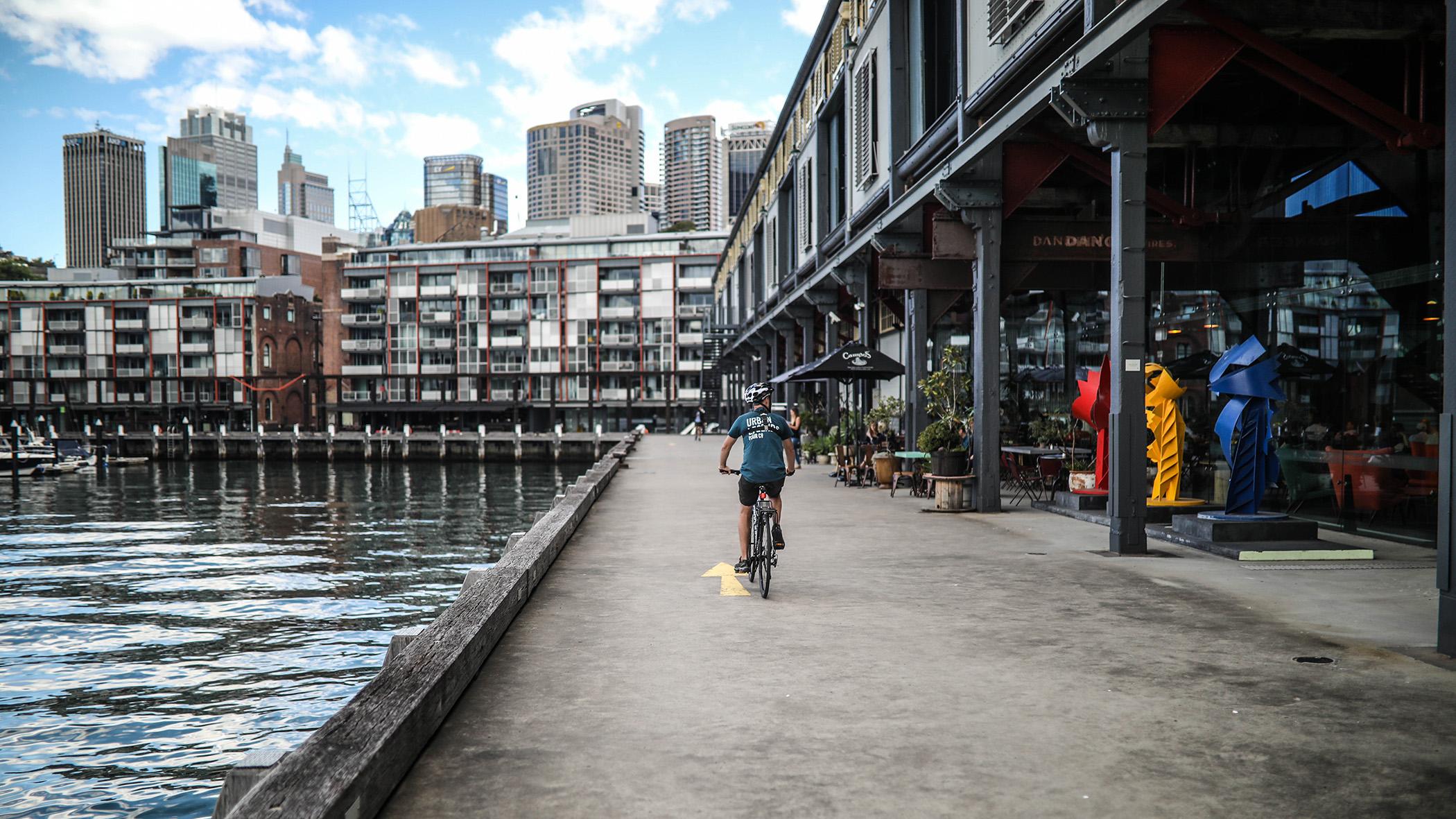Best bike tour in Sydney