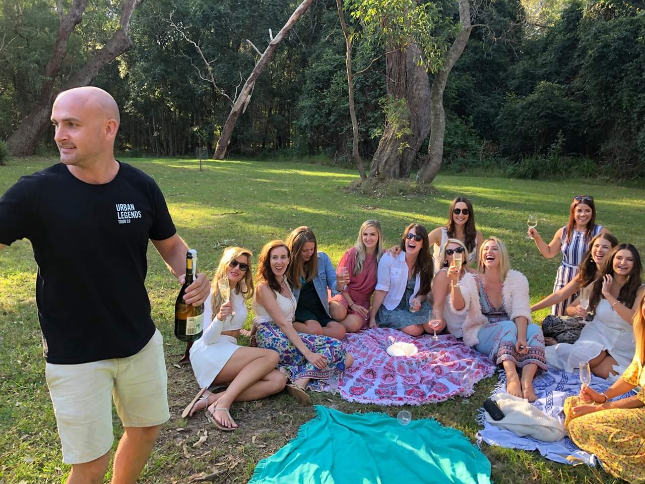Why not try a catered picnic Lunch on your next wine tour!