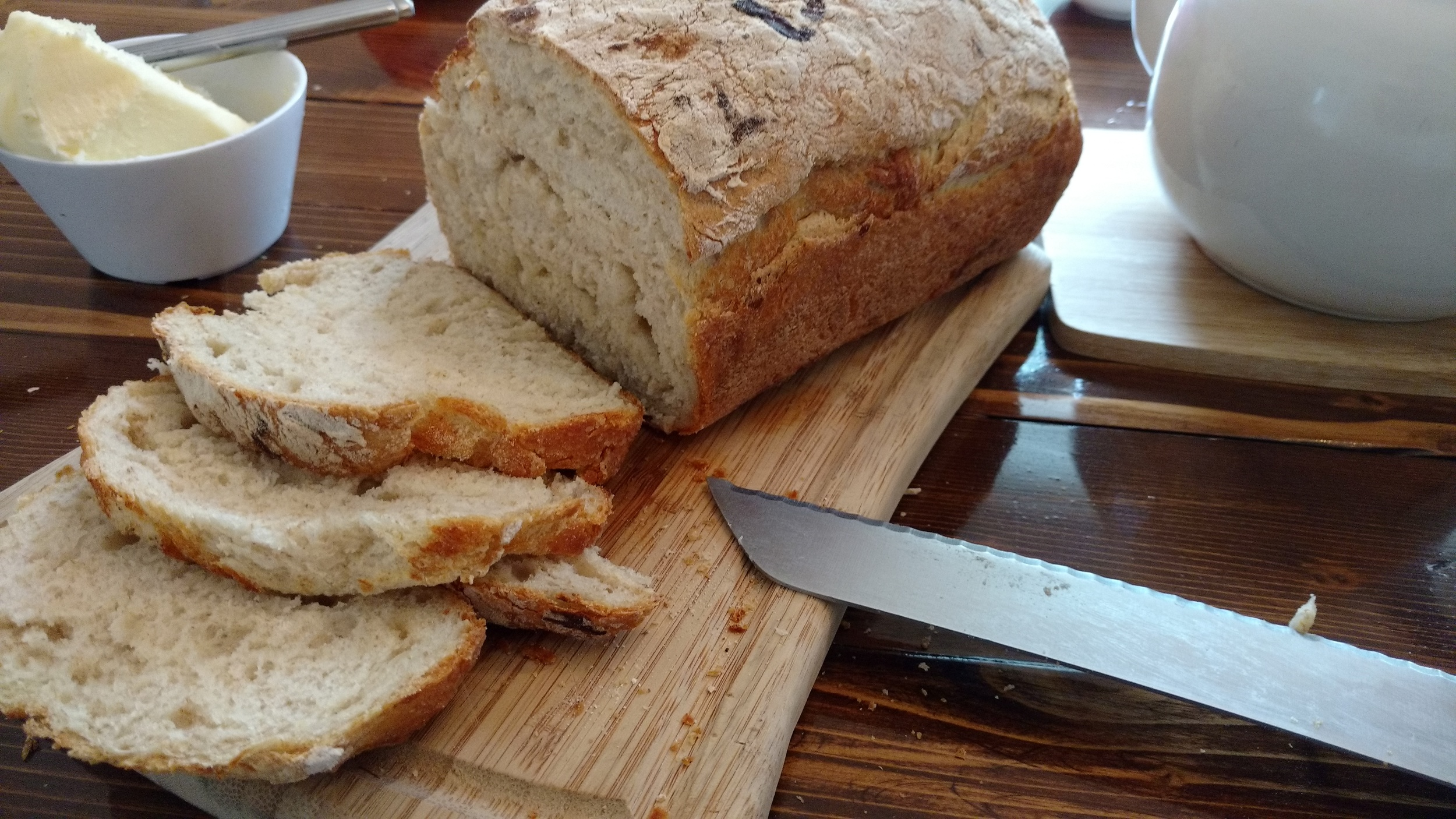 learning in the kitchen, bread
