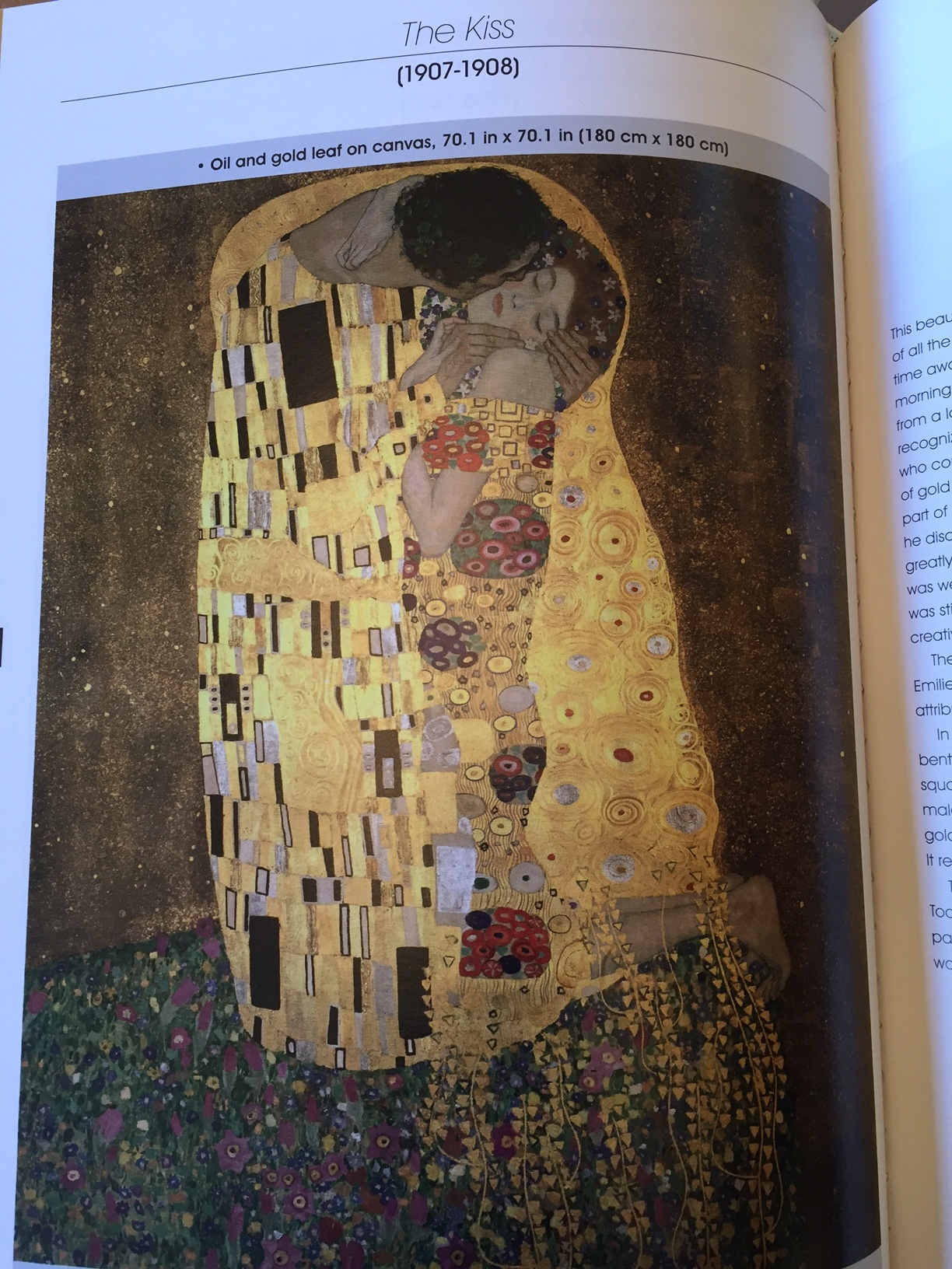 Image from Klimt, The Great Artists Collection.