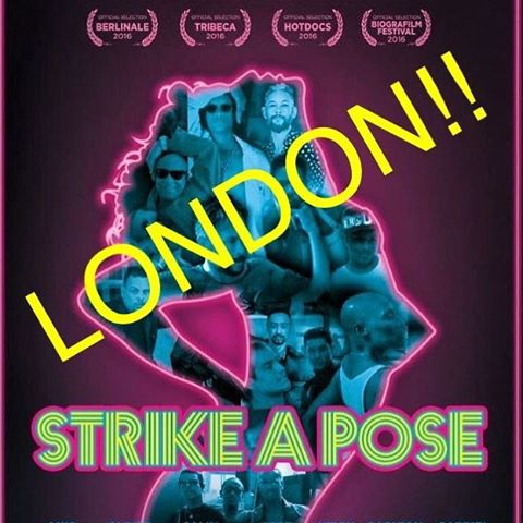 Playing now! @paolopec @amckdance @_williambaker @kylieminogue @mattcainwriter @kimberlywyatt @christineandthequeens @chrisarundel @alexanderjames2nd @ethanlephong @carolhambly http://dochouse.org/cinema/screenings/strike-pose #bond360 @dochouselondon #berthadochouse #madonna #truthordare #blondeambition #kevinstea #strikeapose #uk #oneweekonly @aichamckenzie @mr_iggy_pec_