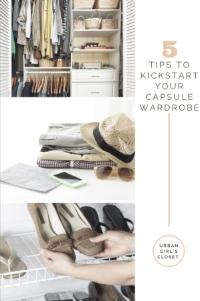 How to Kickstart Your Capsule Wardrobe