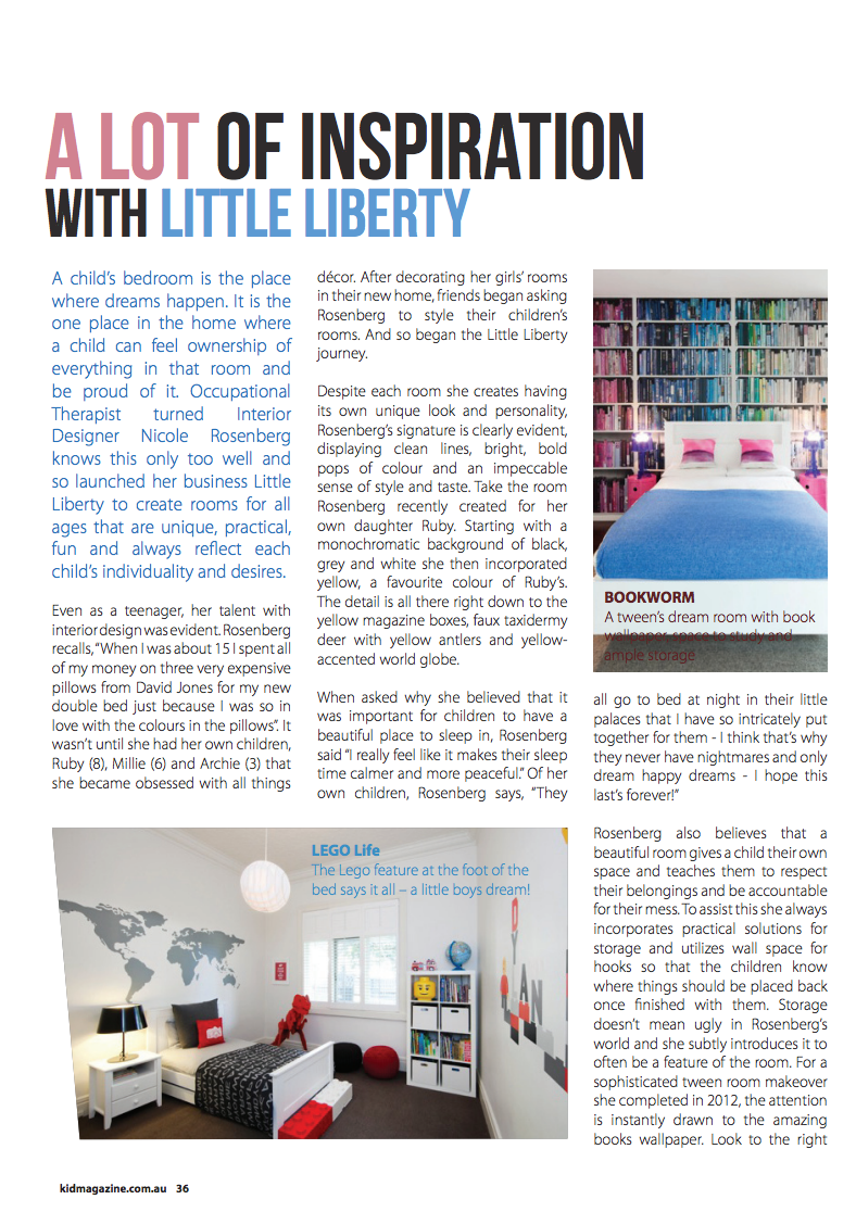 Kid Magazine - Little Liberty