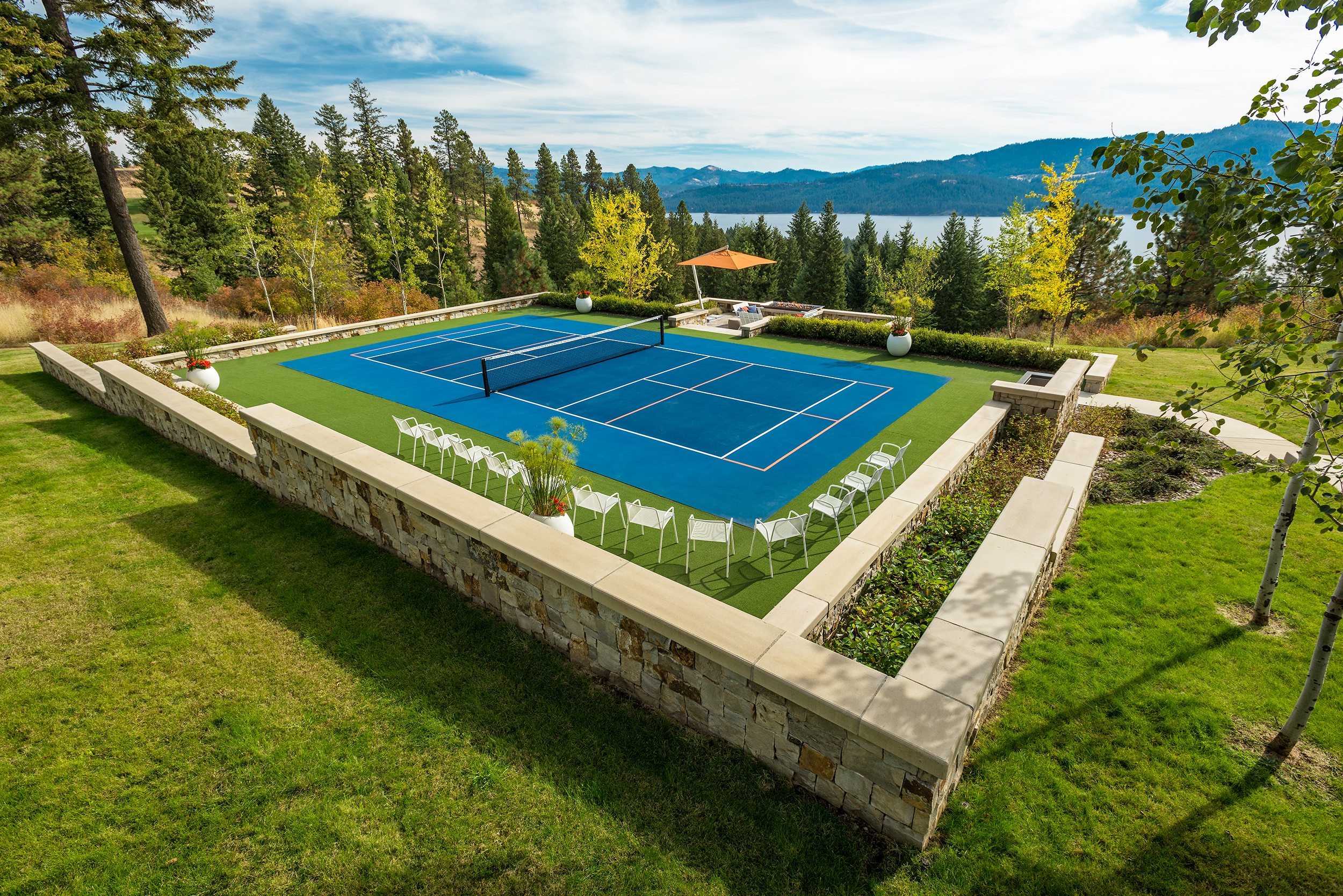 BLACK ROCK ESTATES    COEUR D'ALENE, IDAHO    VIEW PROJECT