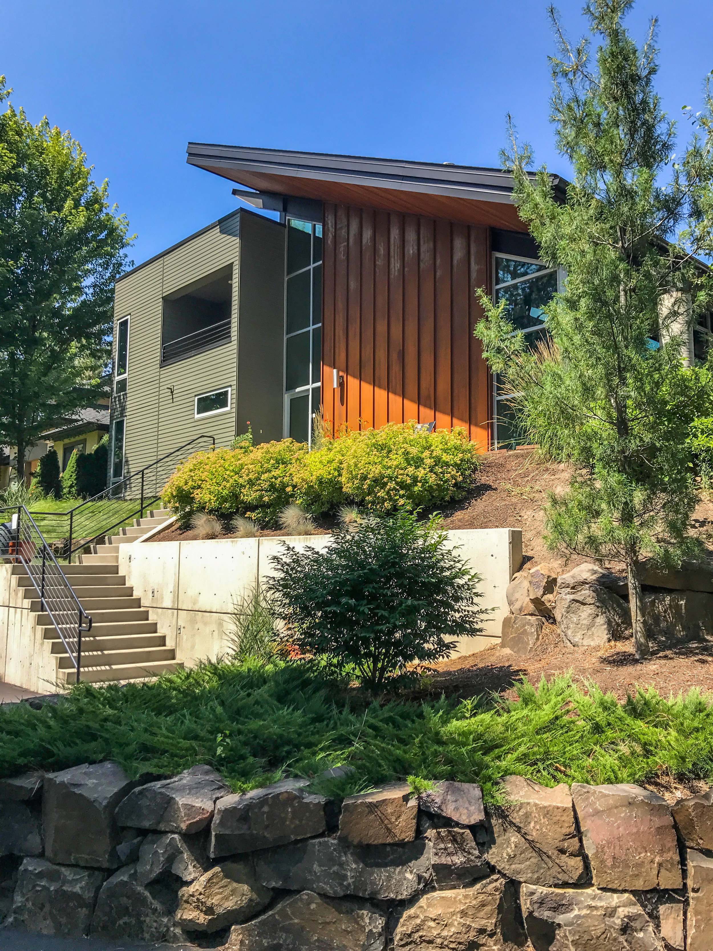 WOLFE RESIDENCE    SPOKANE, WASHINGTON    VIEW PROJECT