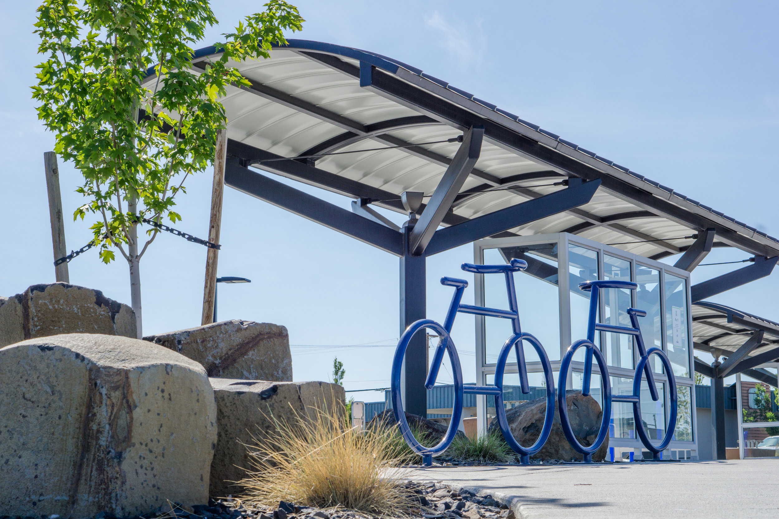 GTA MULTI-MODAL FACILITY     MOSES LAKE, WASHINGTON   VIEW PROJECT