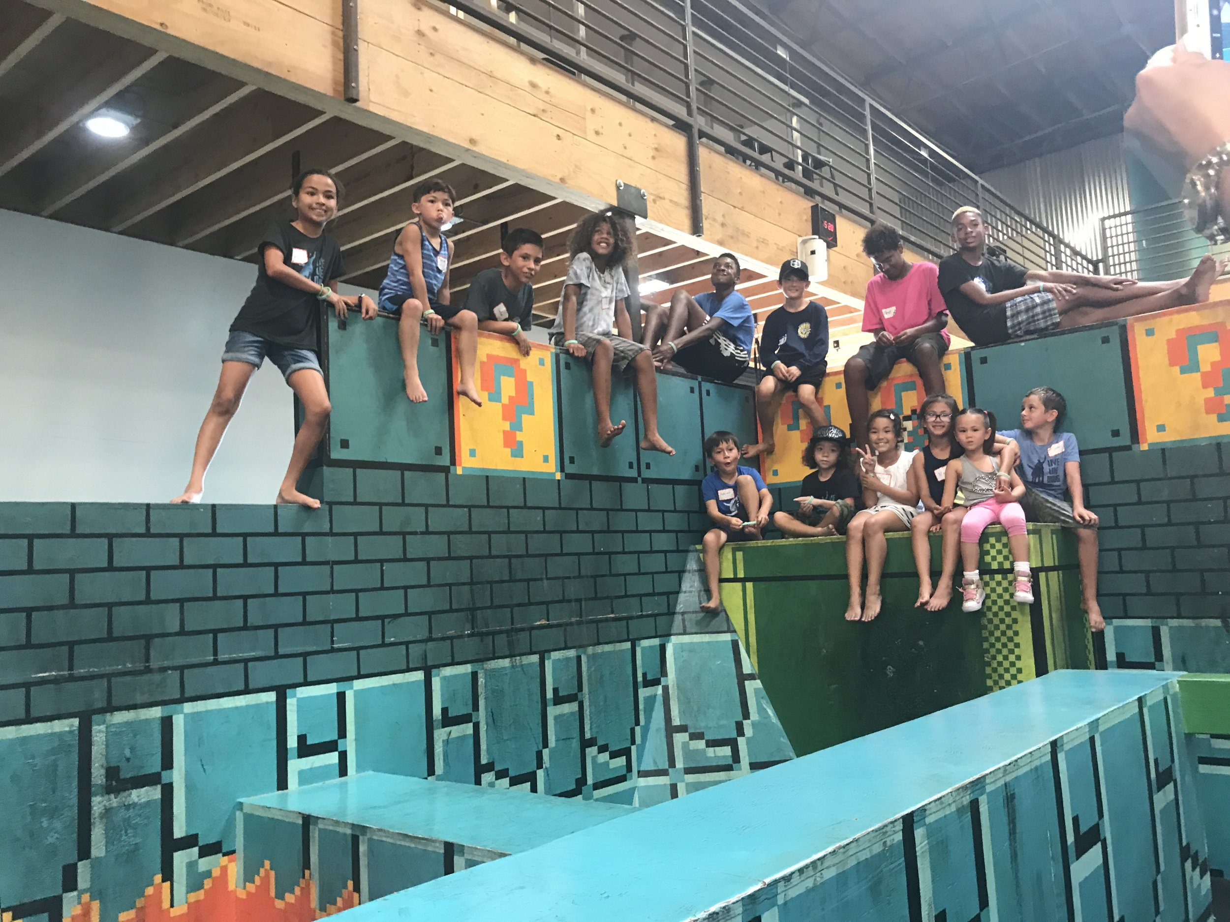 We had fun at our August Social Circle at Tempest Academy. Everyone got to jump, climb, run, bounce, and slide. Lot's of smiles and friends on this special day.