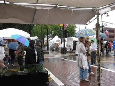 Belleville rain